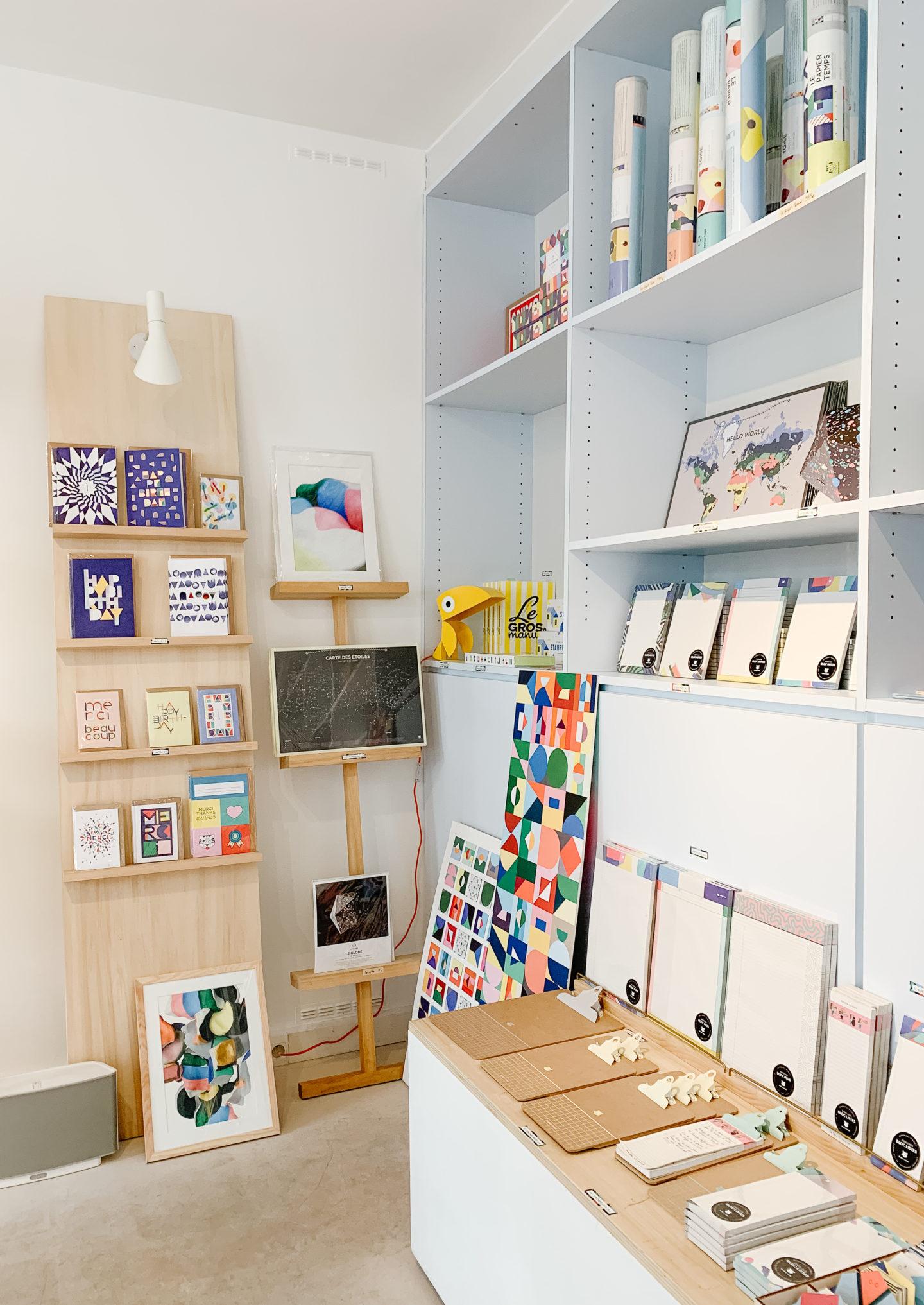 Best design shops in paris