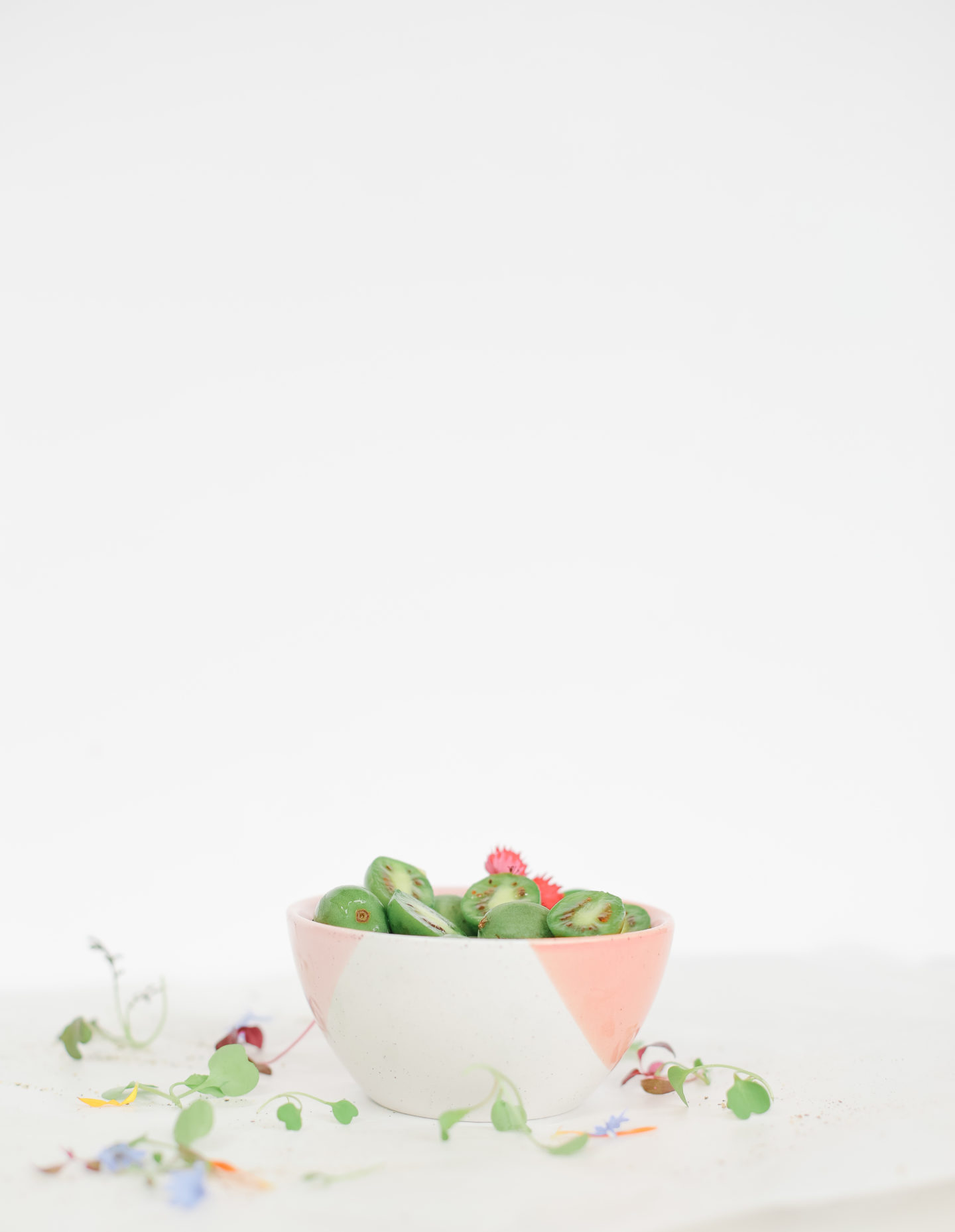 Mini Kiwi Poke bowls
