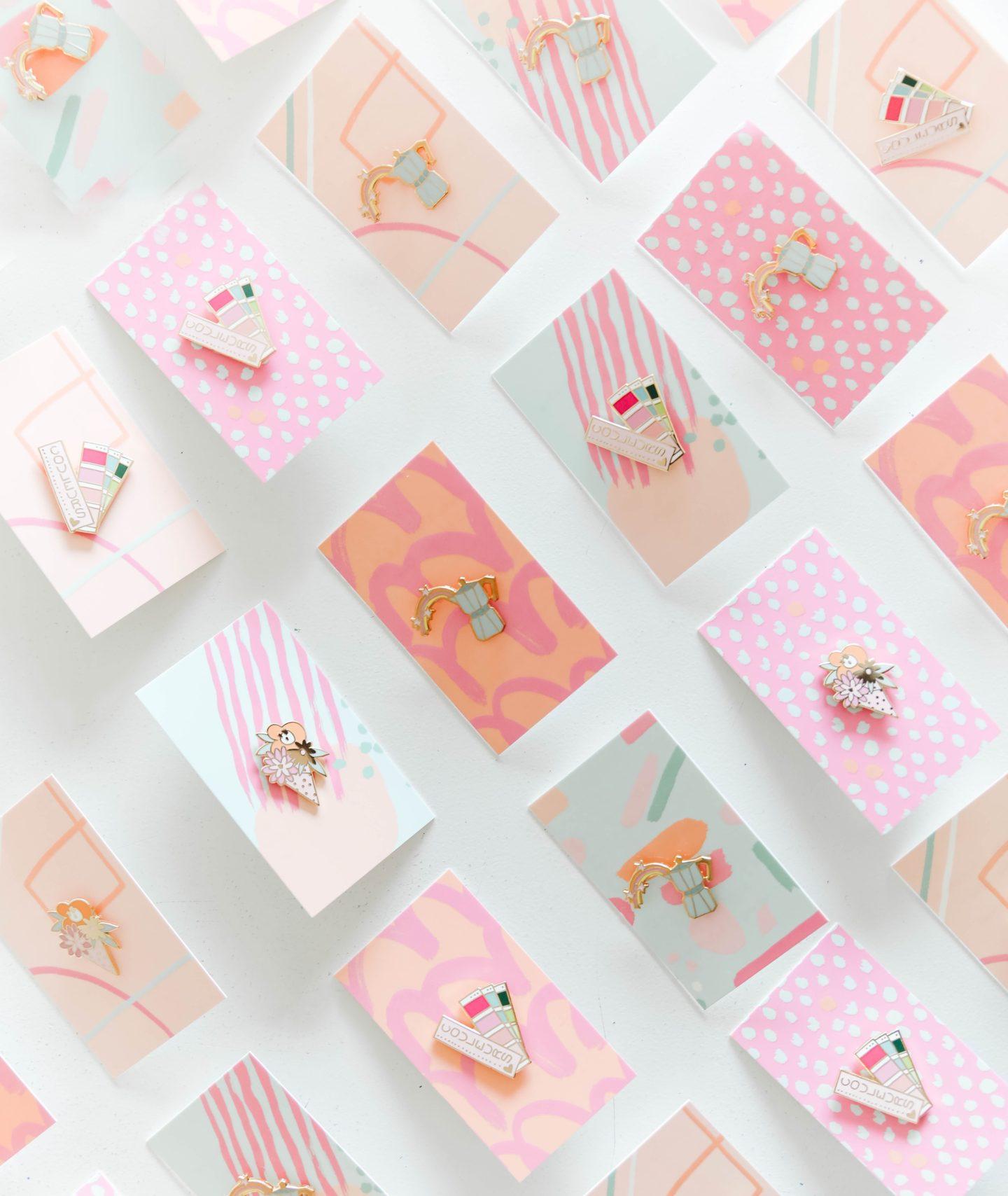The prettiest pastel enamel pins