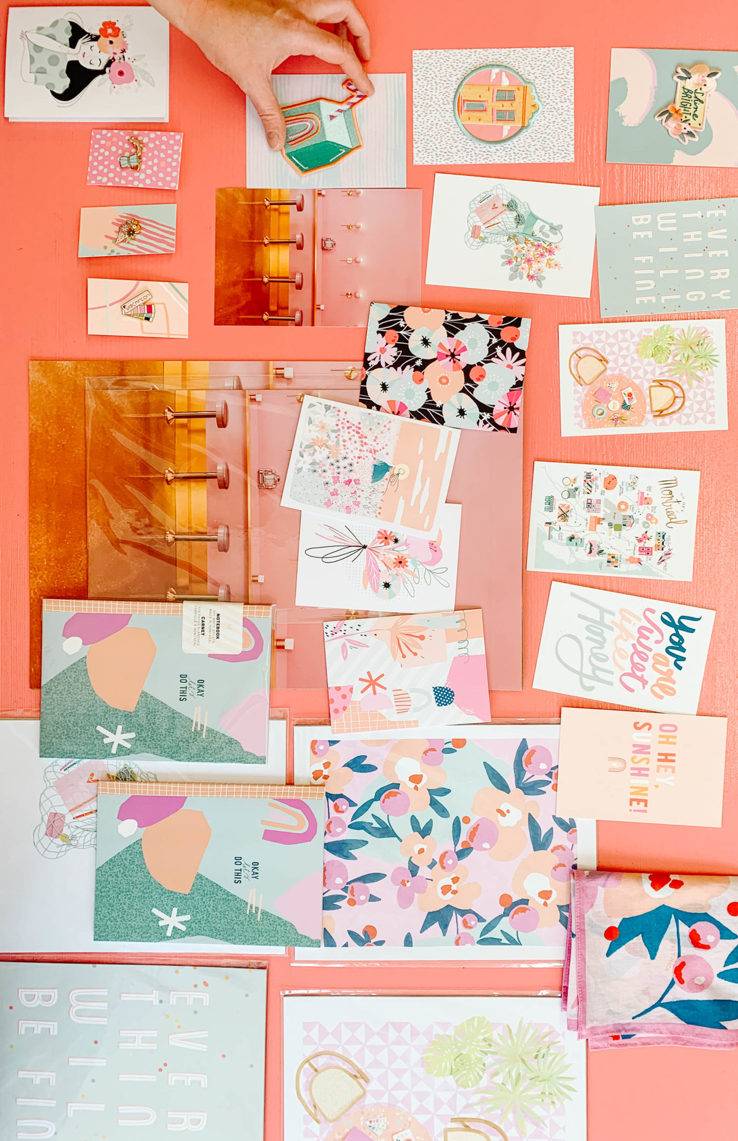 Pastel Stationery Collection