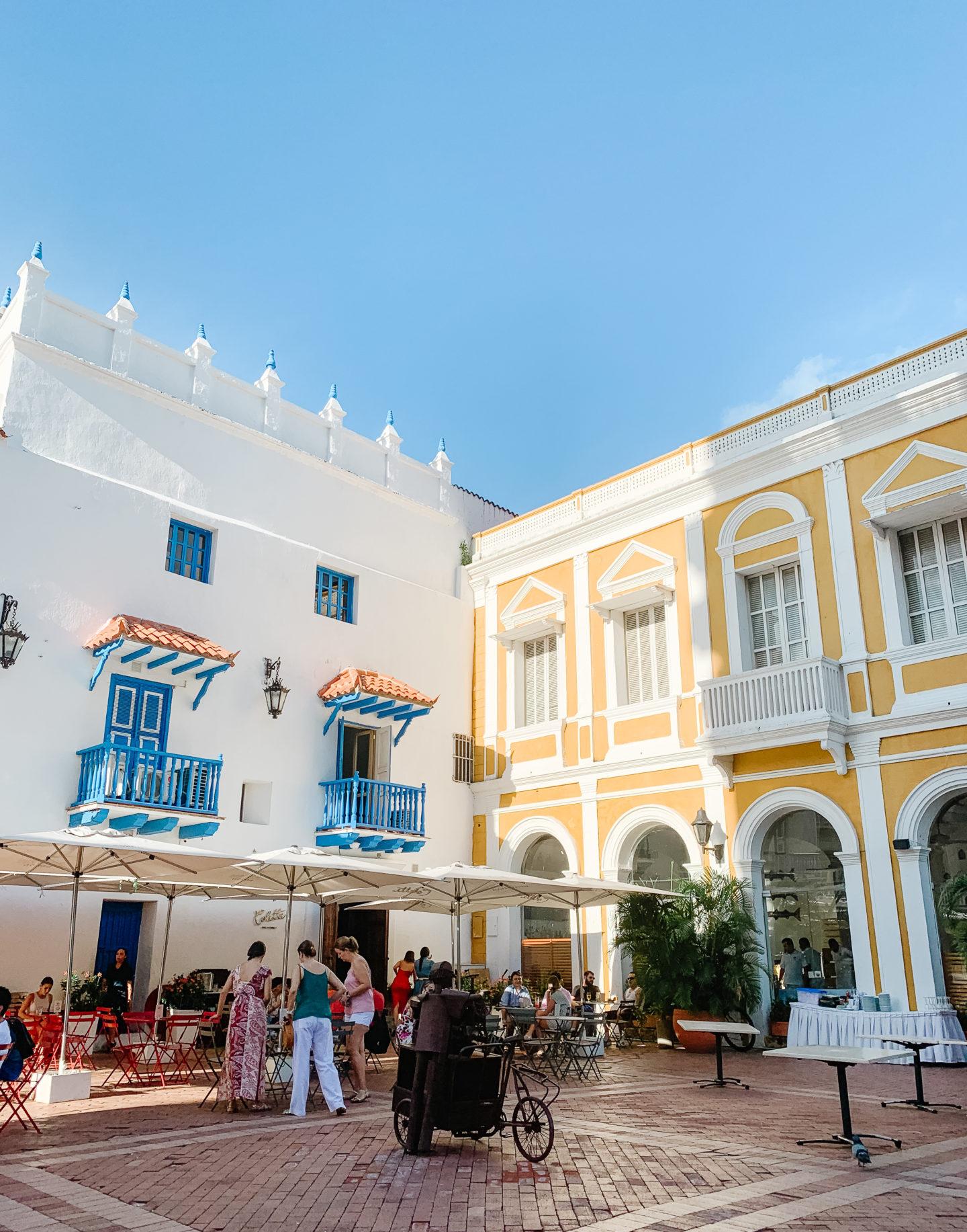 Plazas in Cartagena