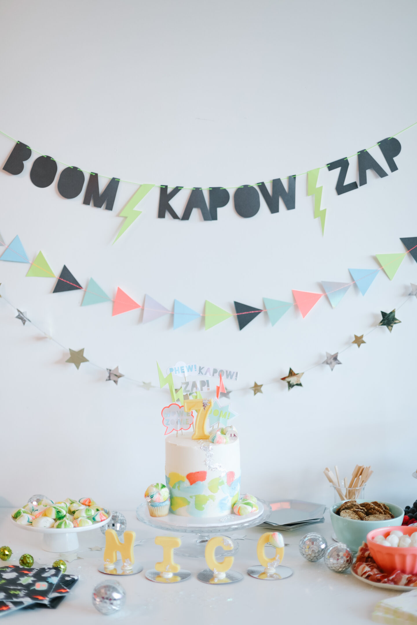 How to plan a colourful kids birthday