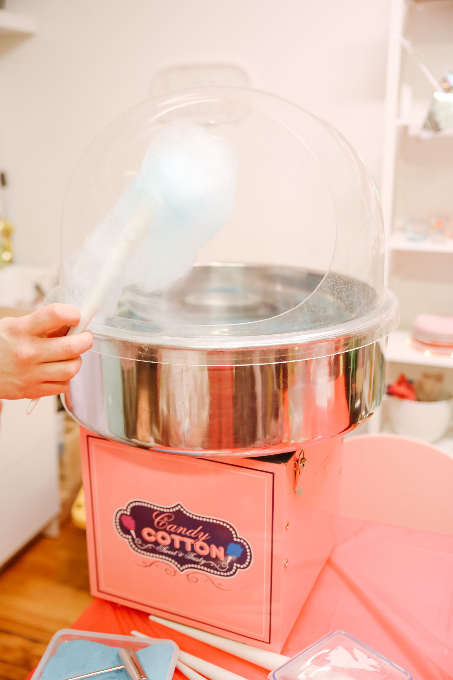 Science Party Theme: Cotton Candy!