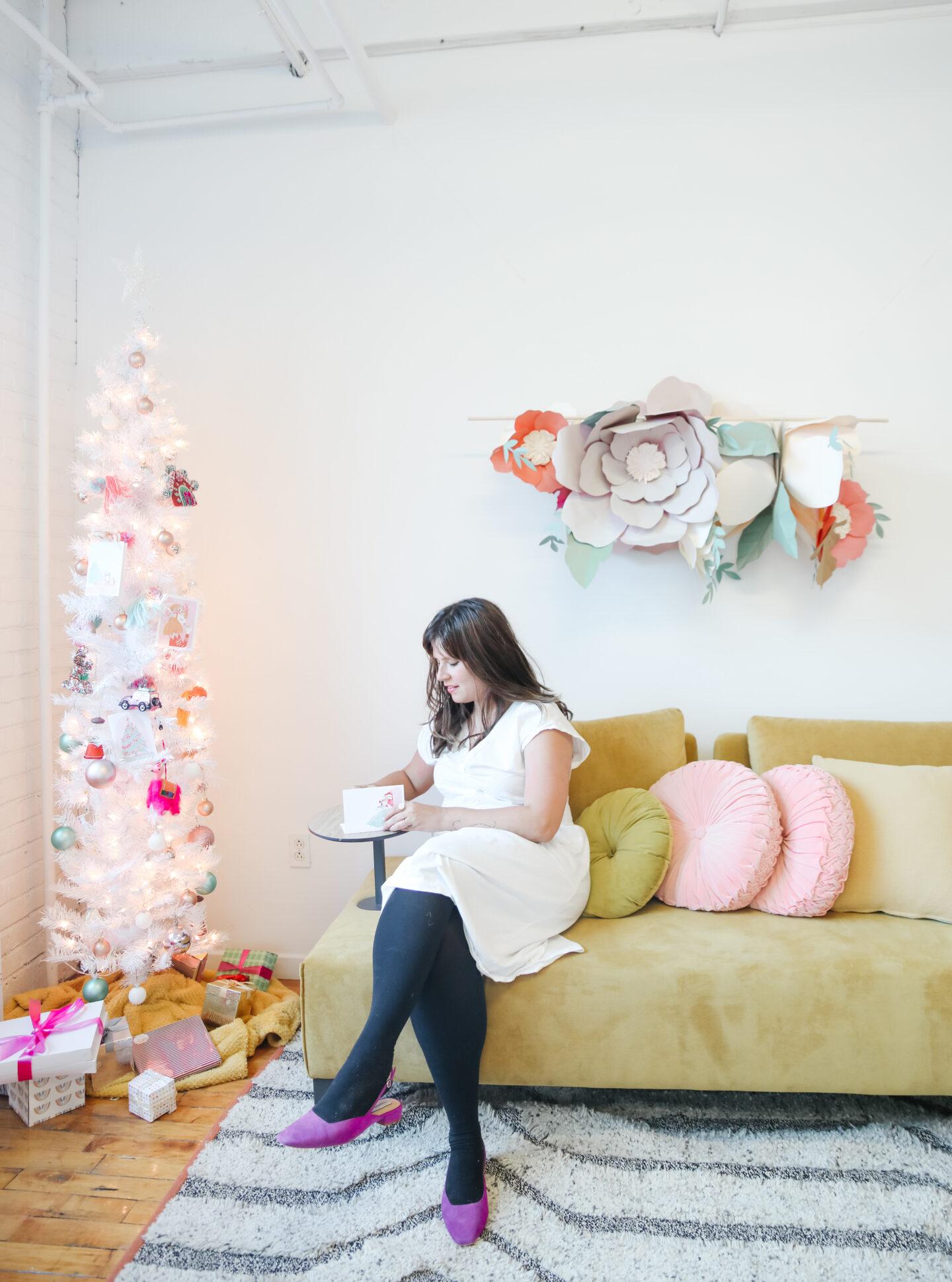 A Whimsical Colourful Christmas Decor