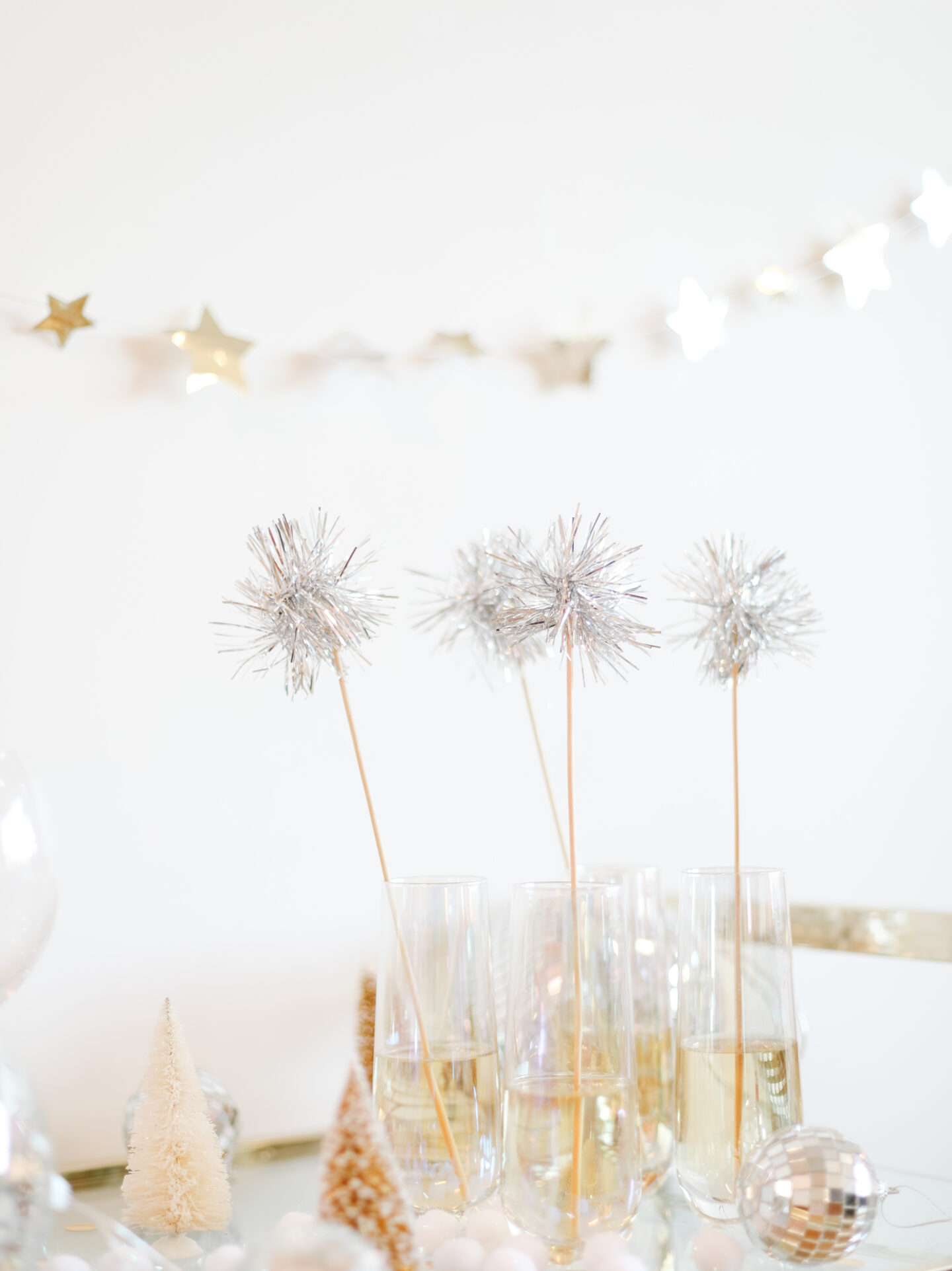 DIY Sparkly Sticks for Christmas