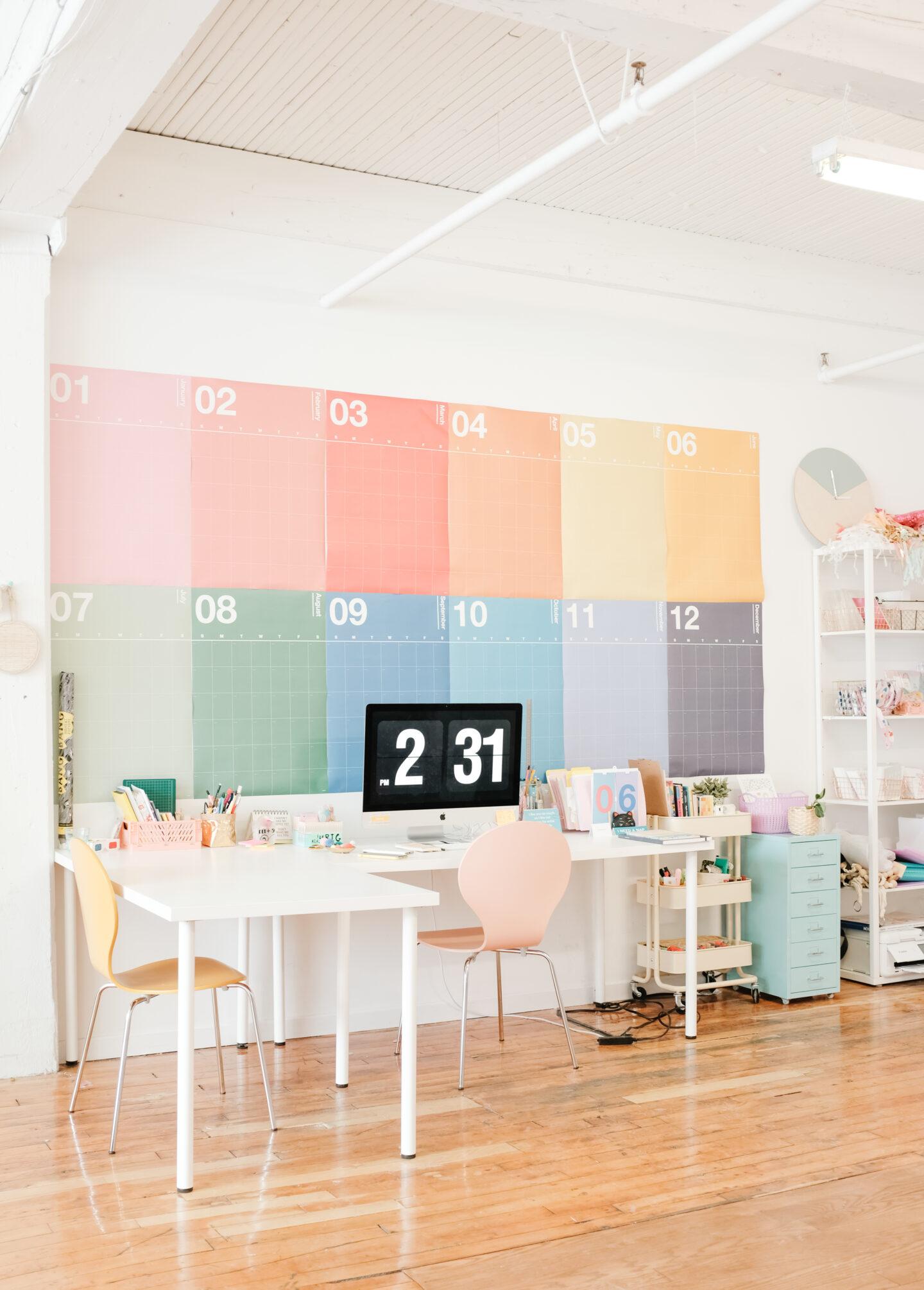 A colurful Studio Decor