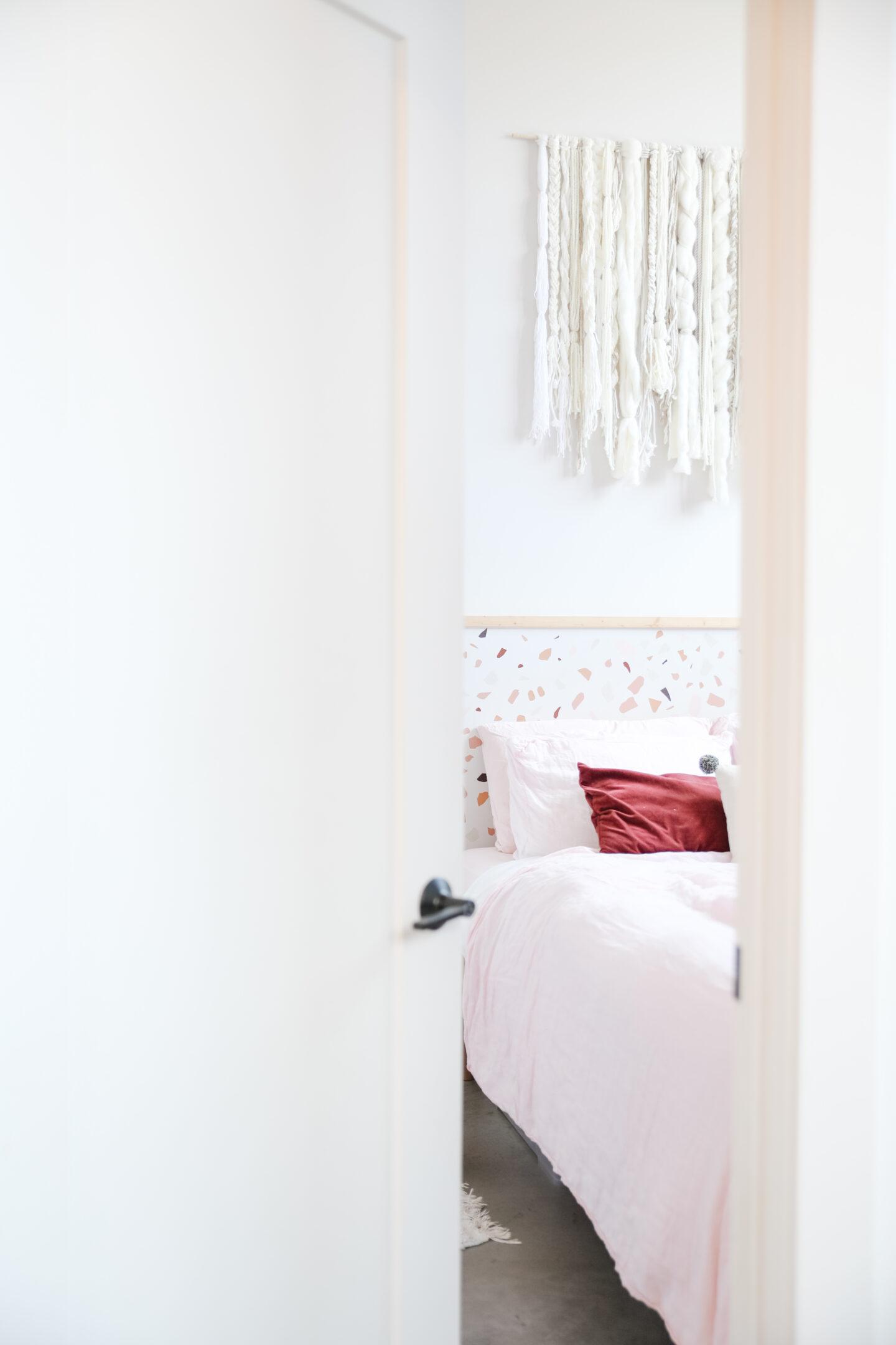 Easy Pink Terrazzo Wall Decor
