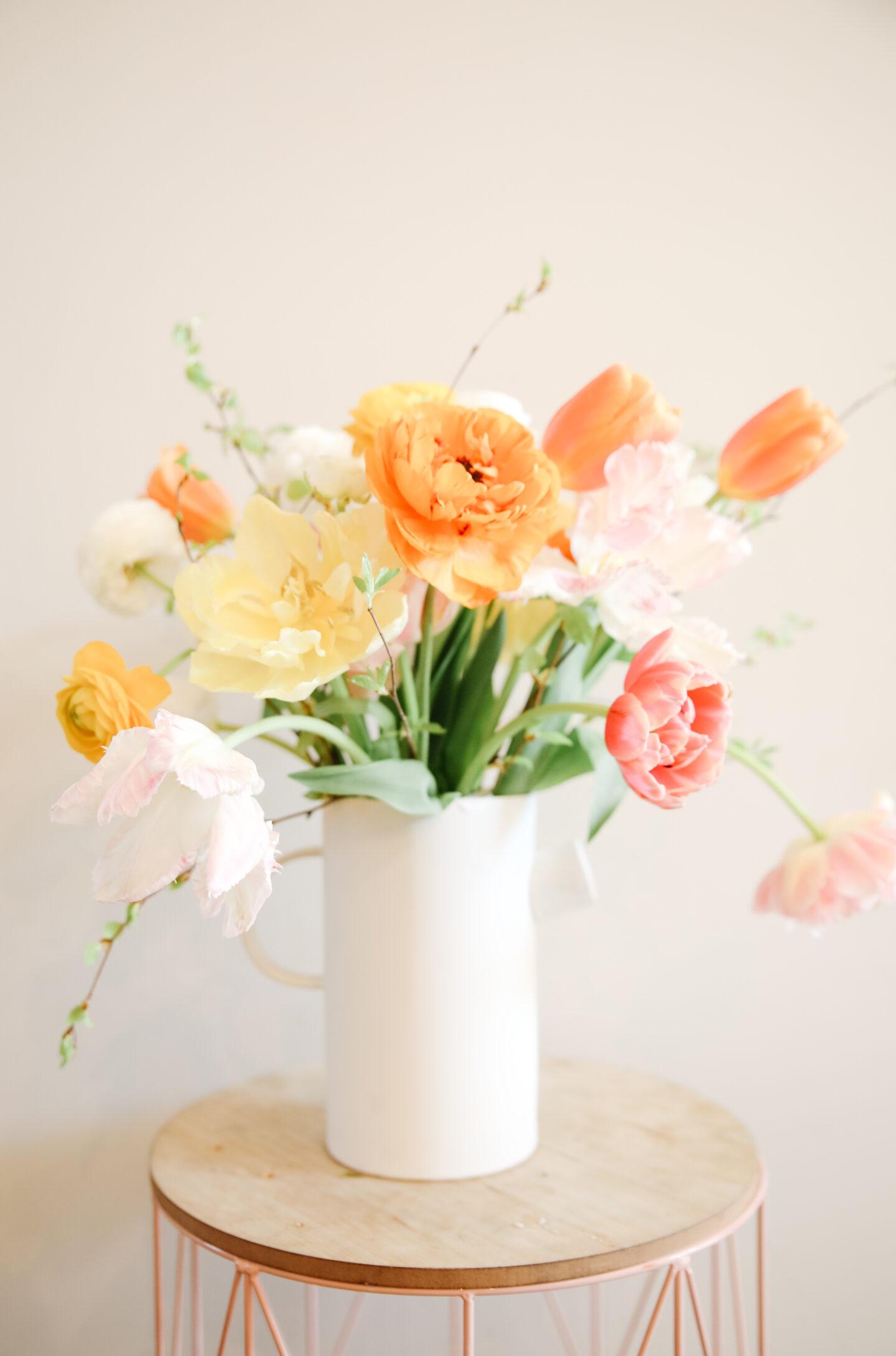 Style flowers like a florist