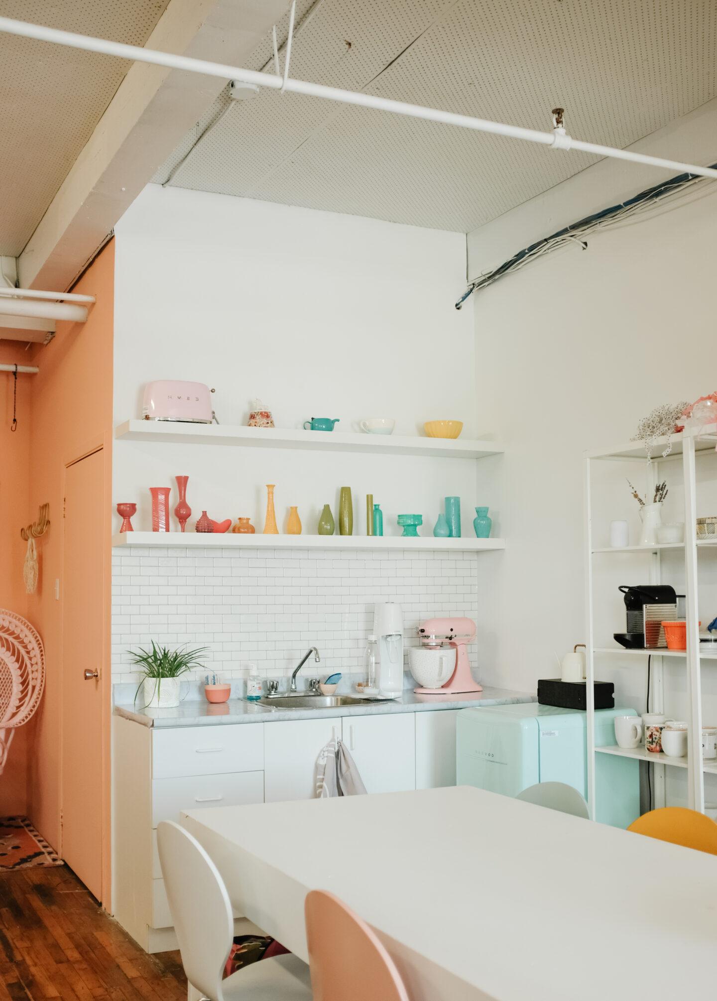 Colourful Office decor ideas