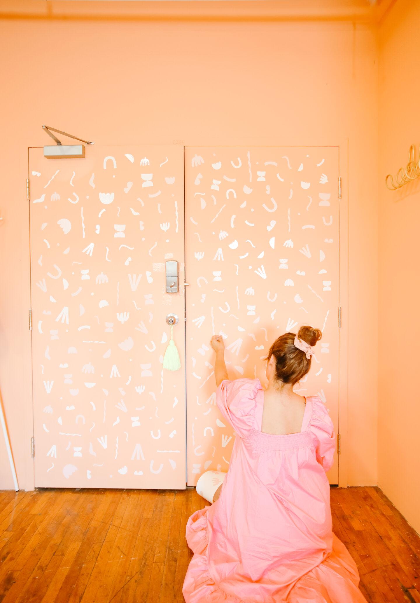 Entryway DIY ideas: A door to remember