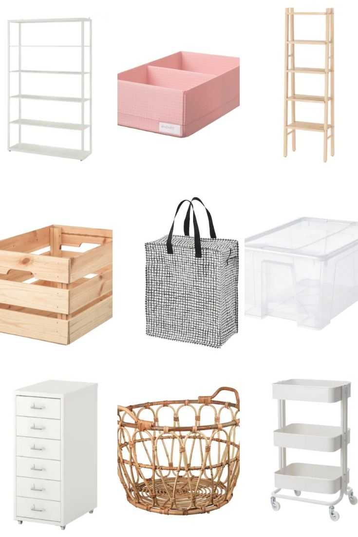 Ikea Organizing Essentials: What to buy