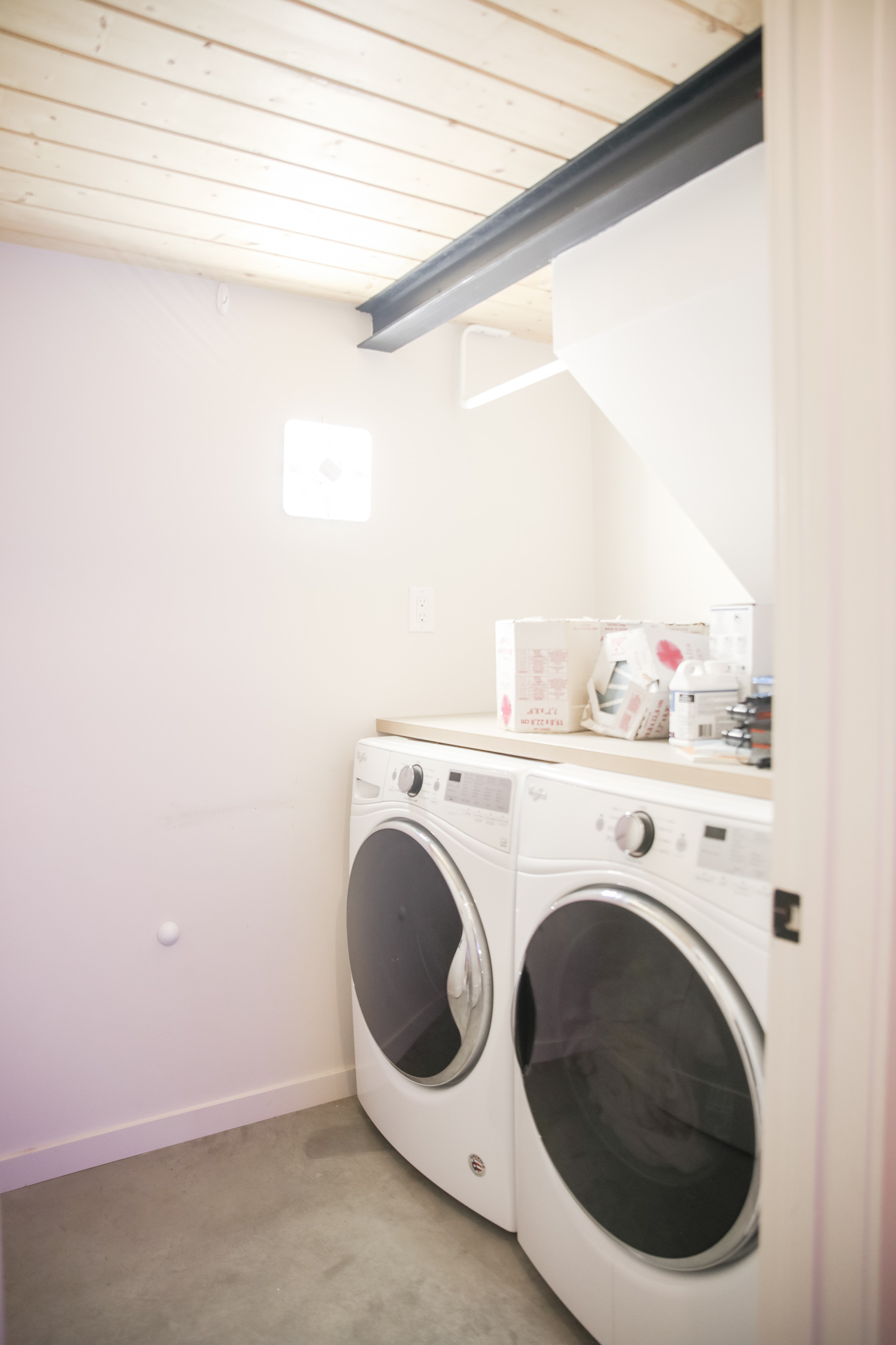 Before - After Laundry room decor