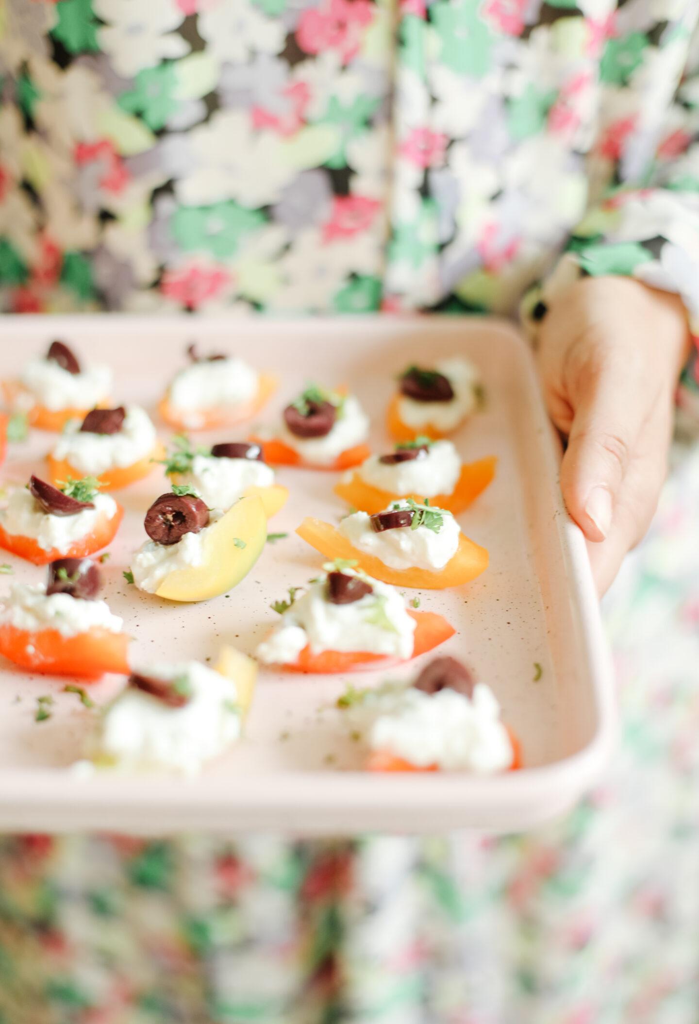 Tiny Food: Feta Boats Recipe
