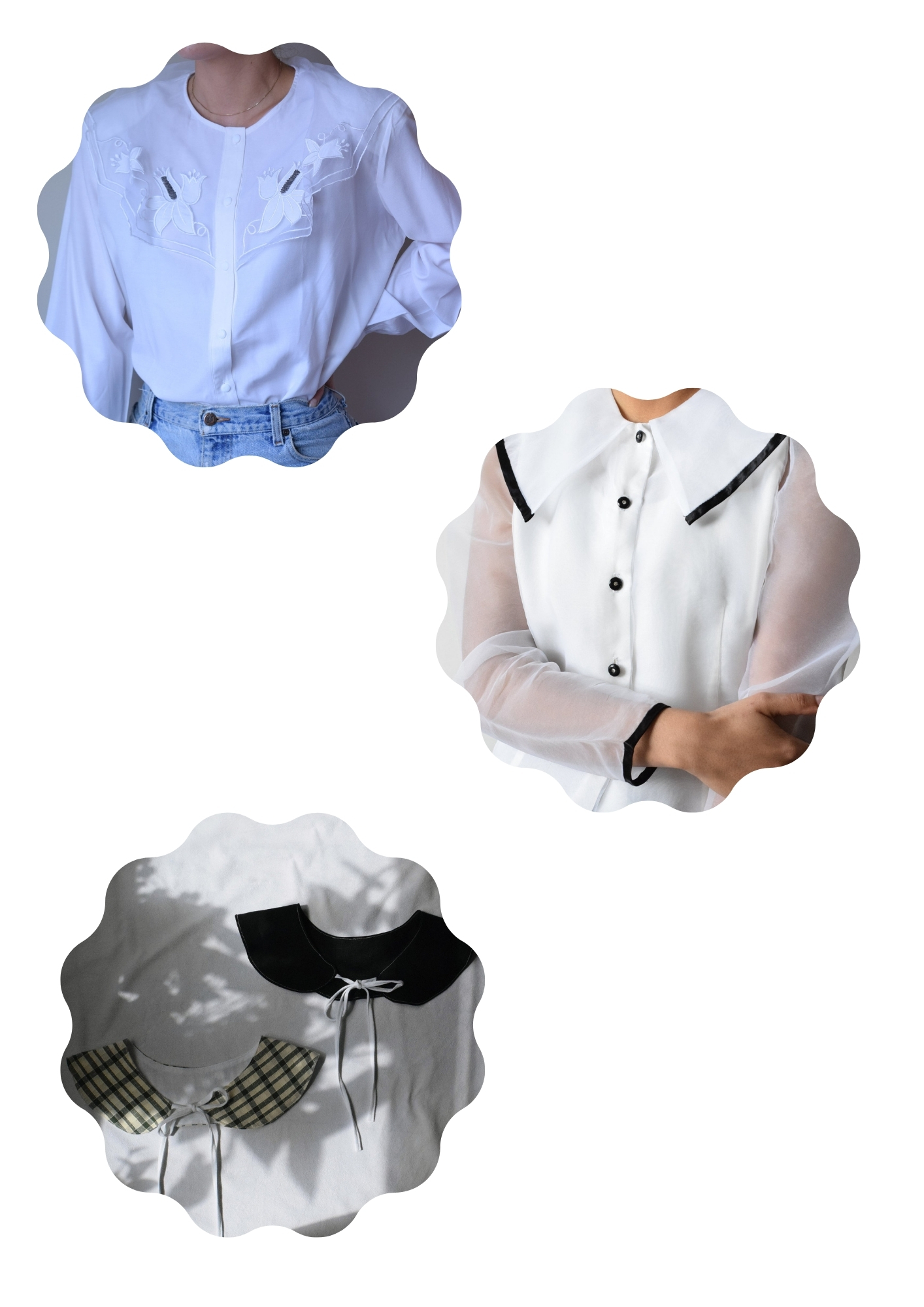 Big Collar Blouses Trend