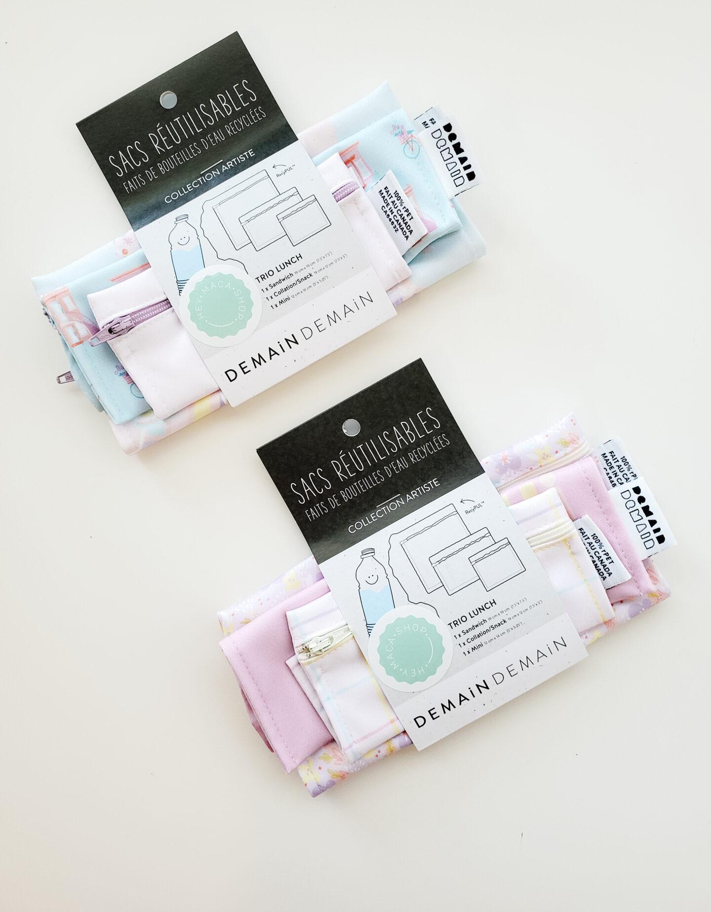 Reusable bags packaging