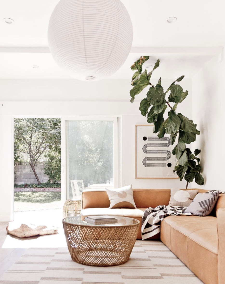 Living room in neutrals inspiration