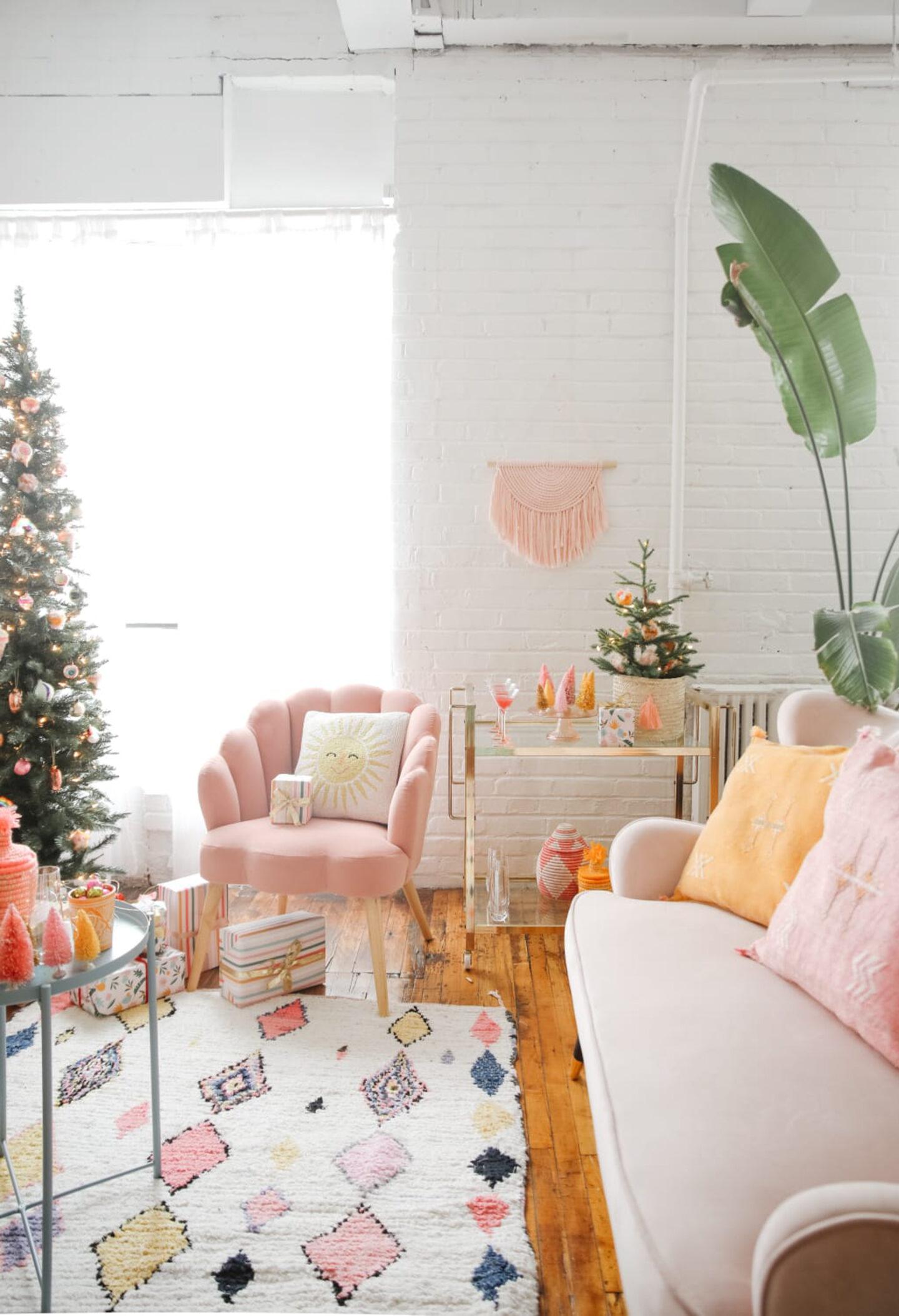 Bohemian Modern Living Room Decor