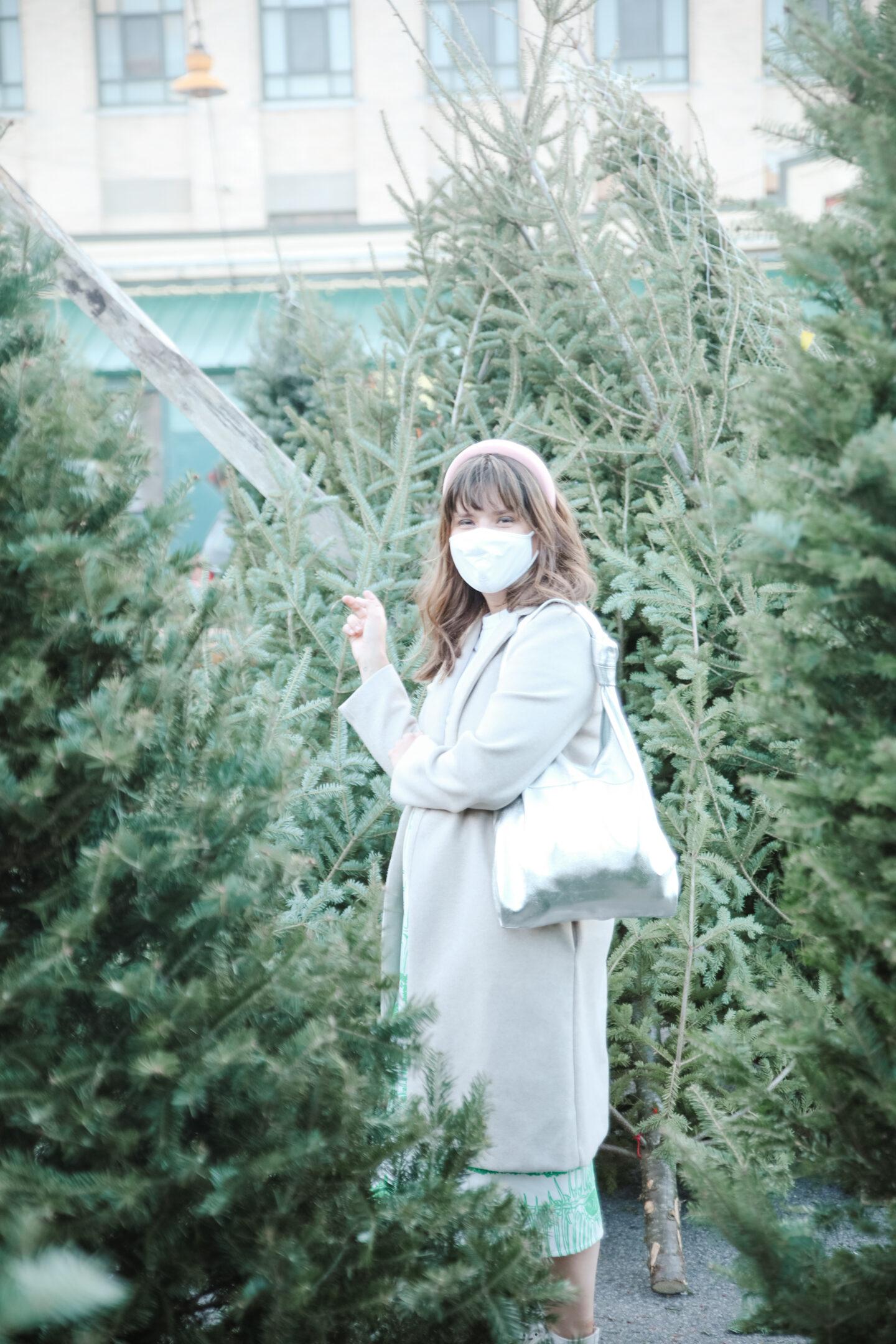 Natural Christmas tree market