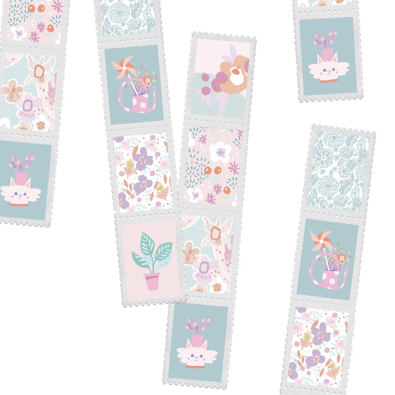 Washi Stamp Tape design