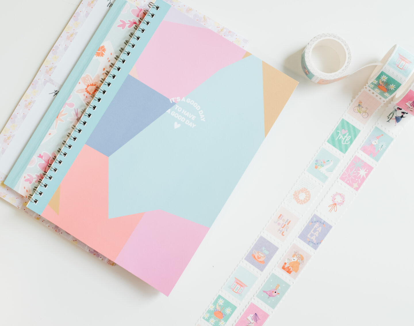 Colourful Stationary Line