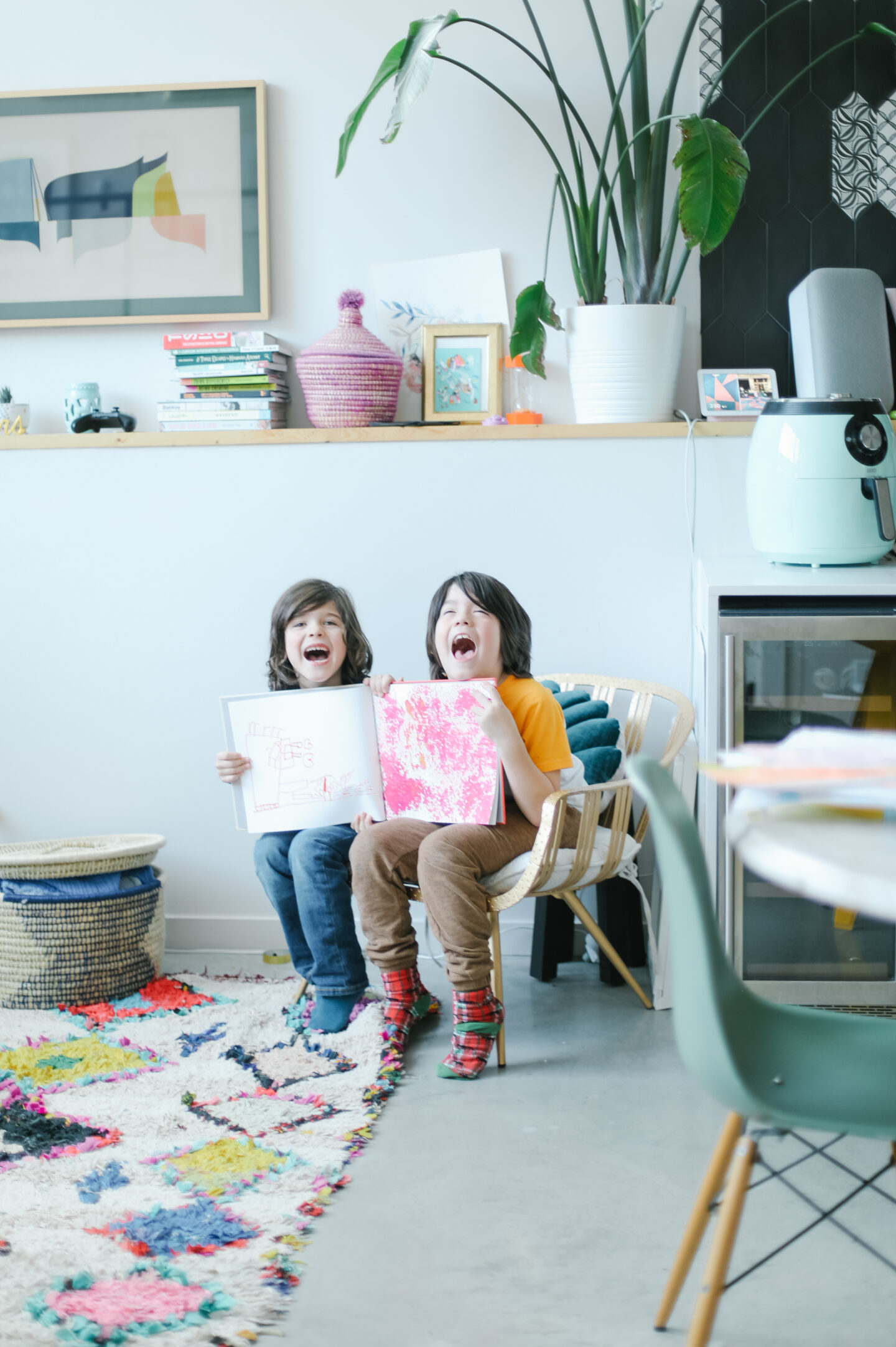 How to preserve your kids art with books