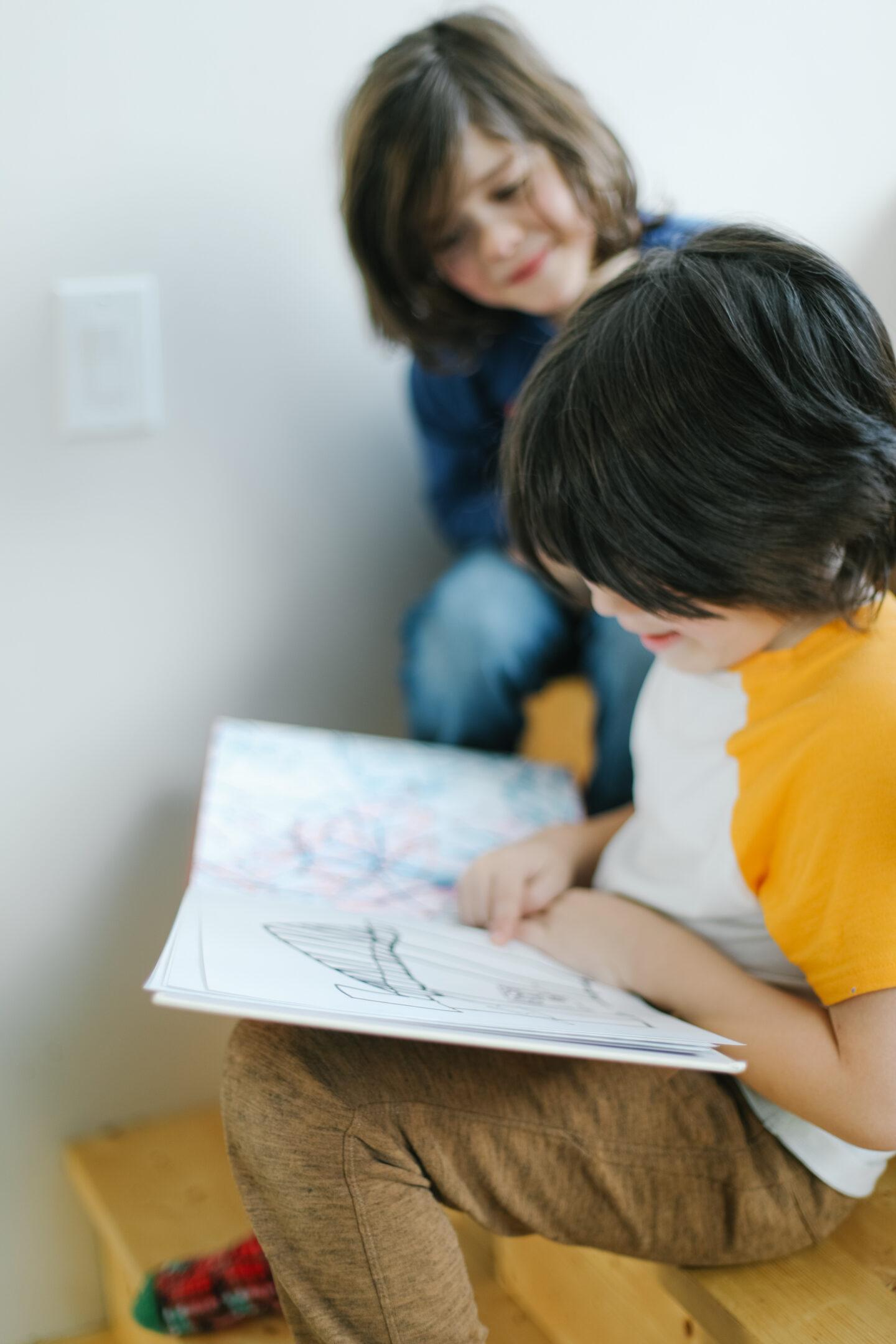Kids art into beautiful books