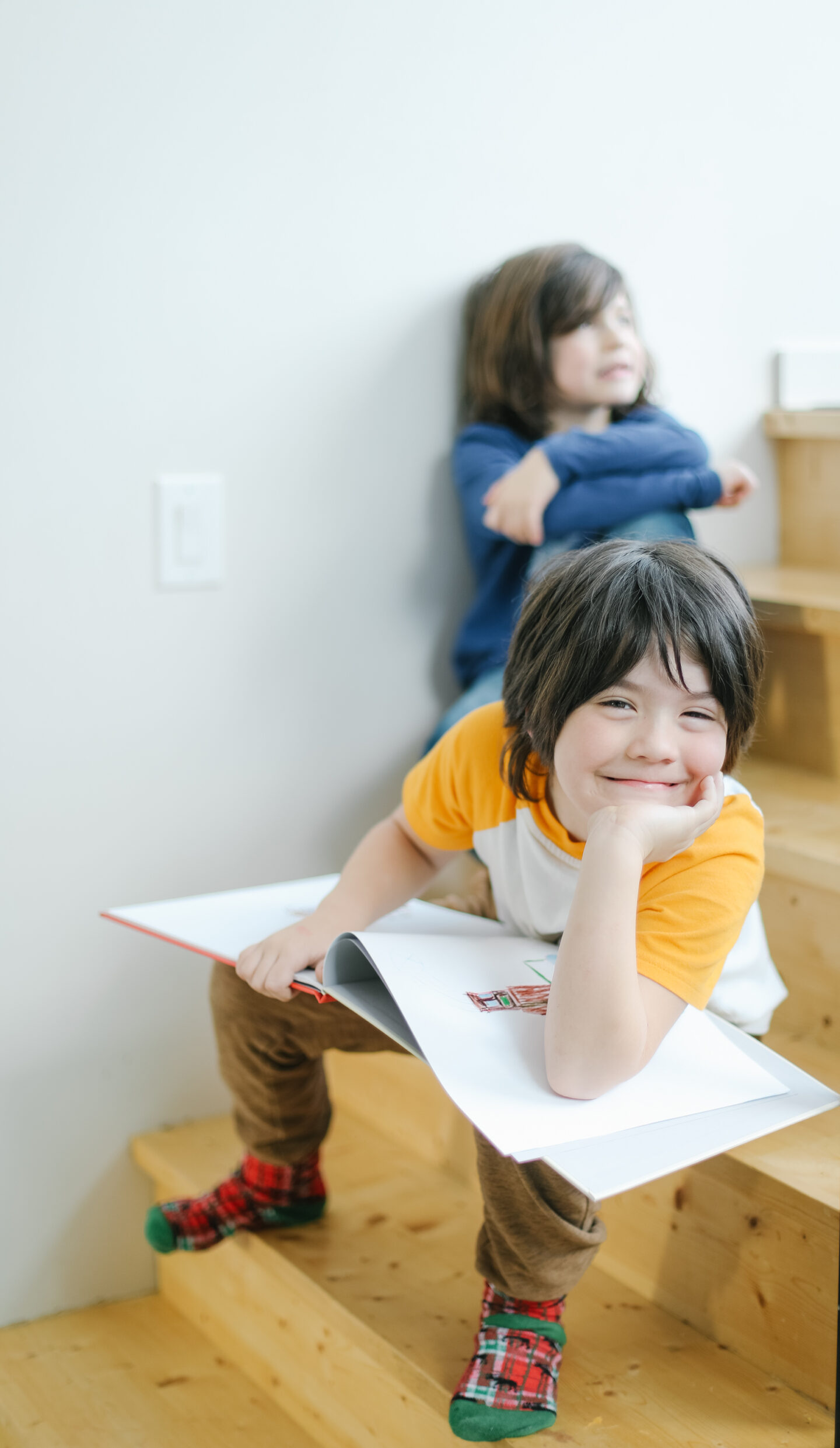 Printing your kids drawings to books
