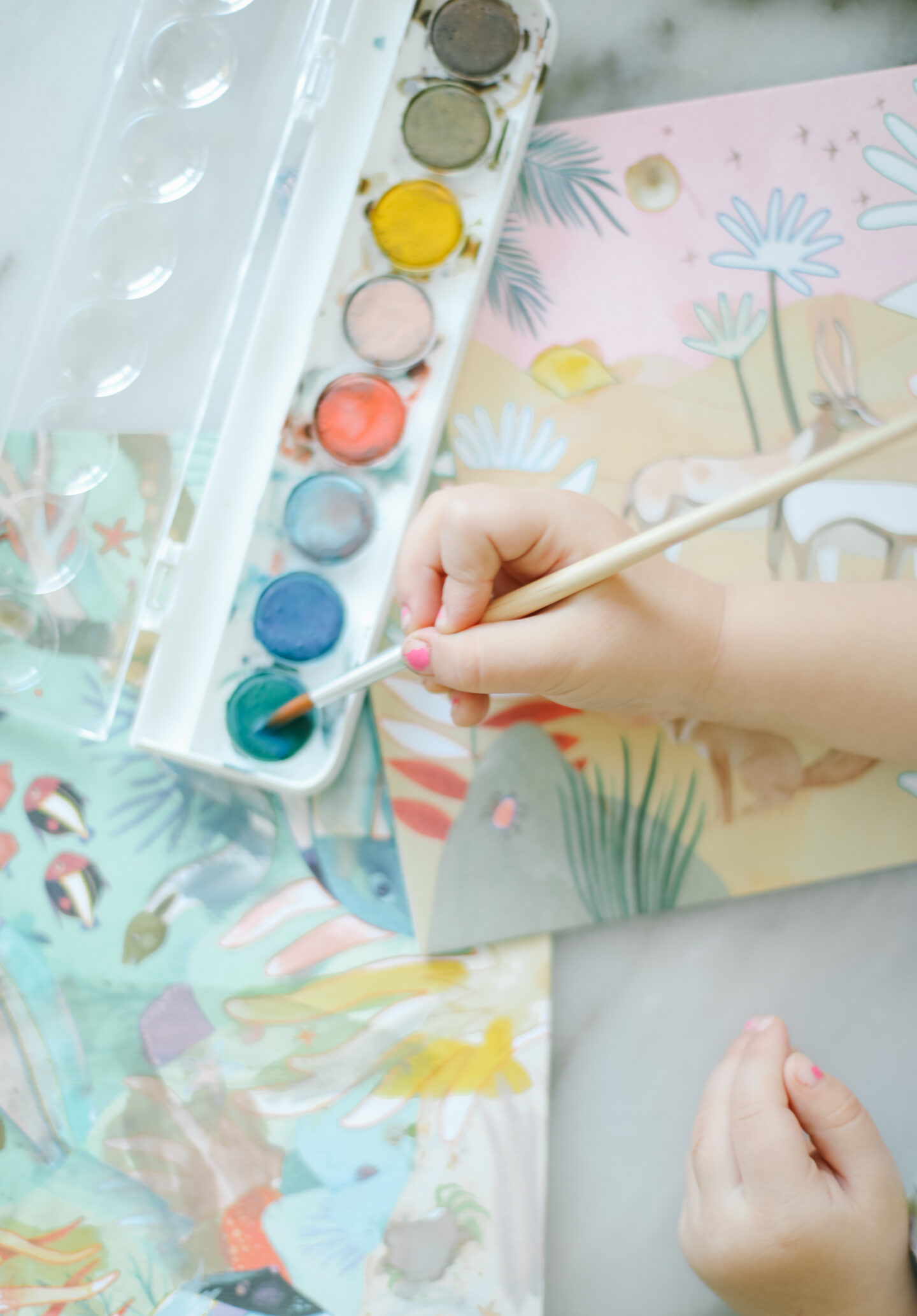 Kids art - how to create memories with their art