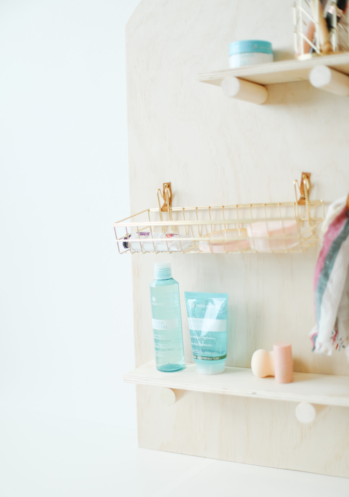 Beauty Organizer DIY