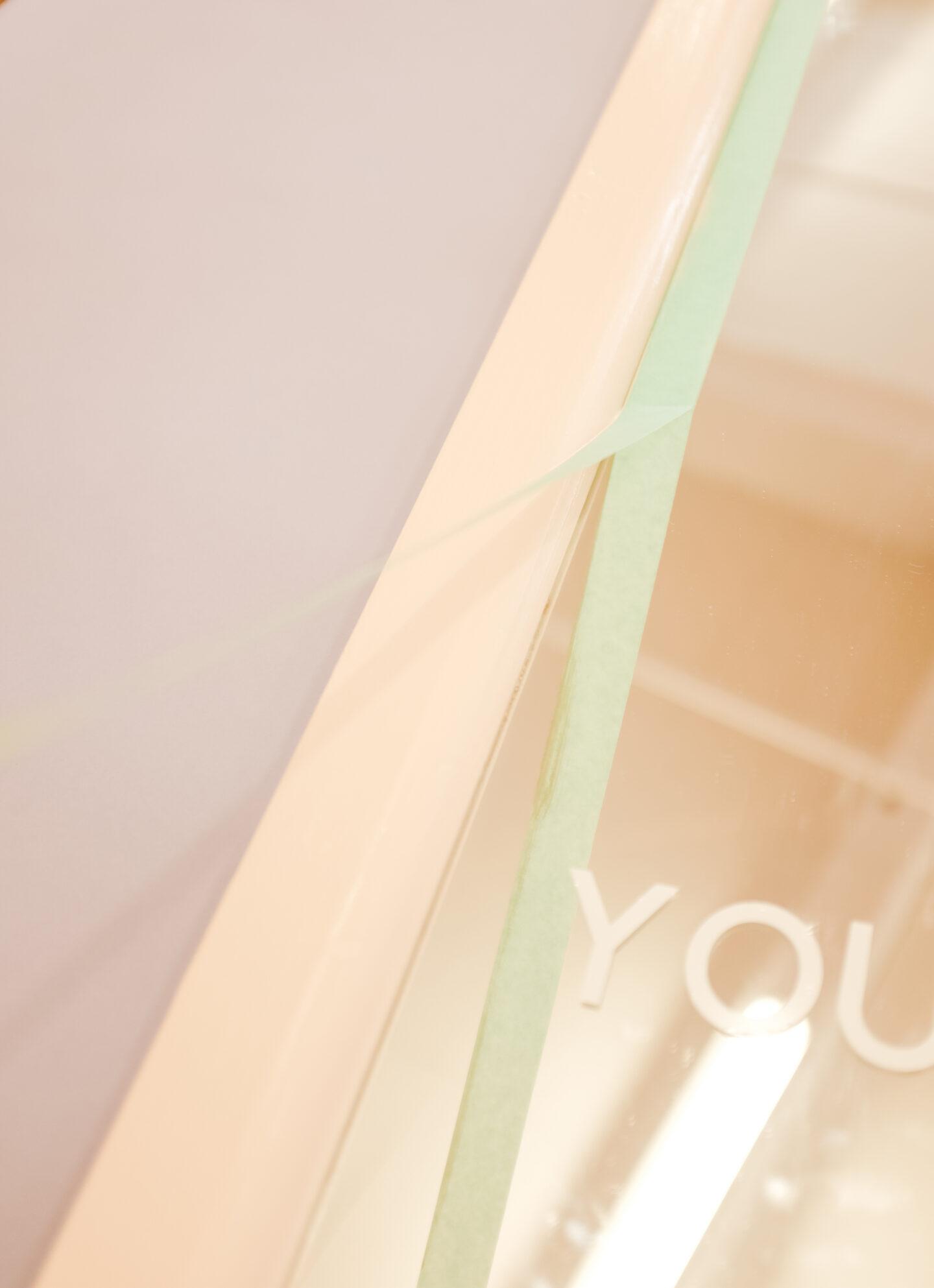 you look good mirror like glossier