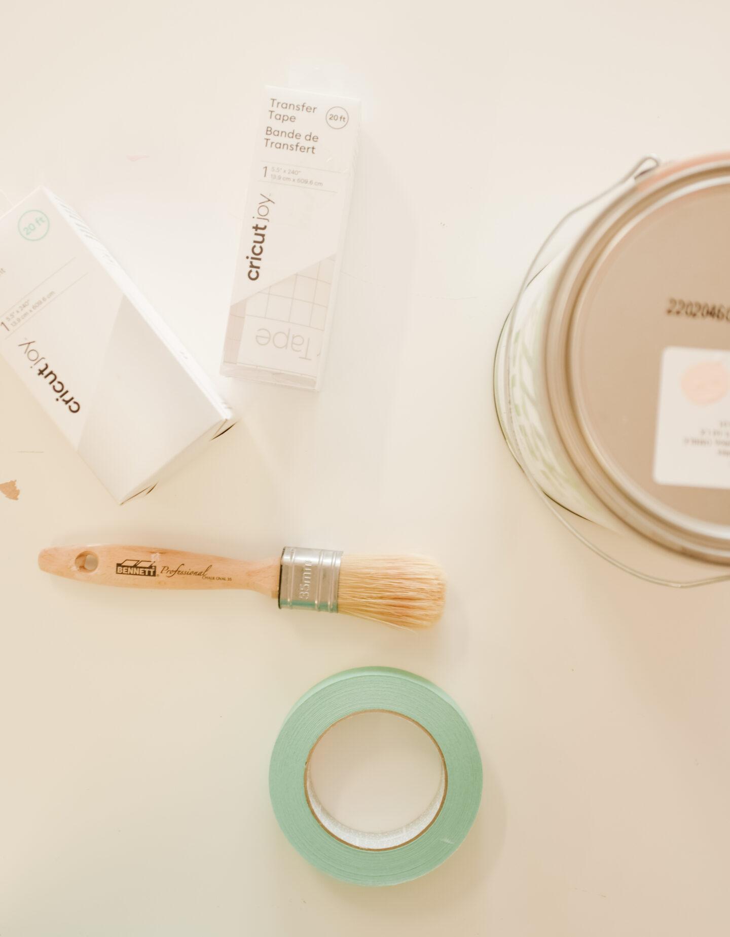 Glossier Mirror DIY materials