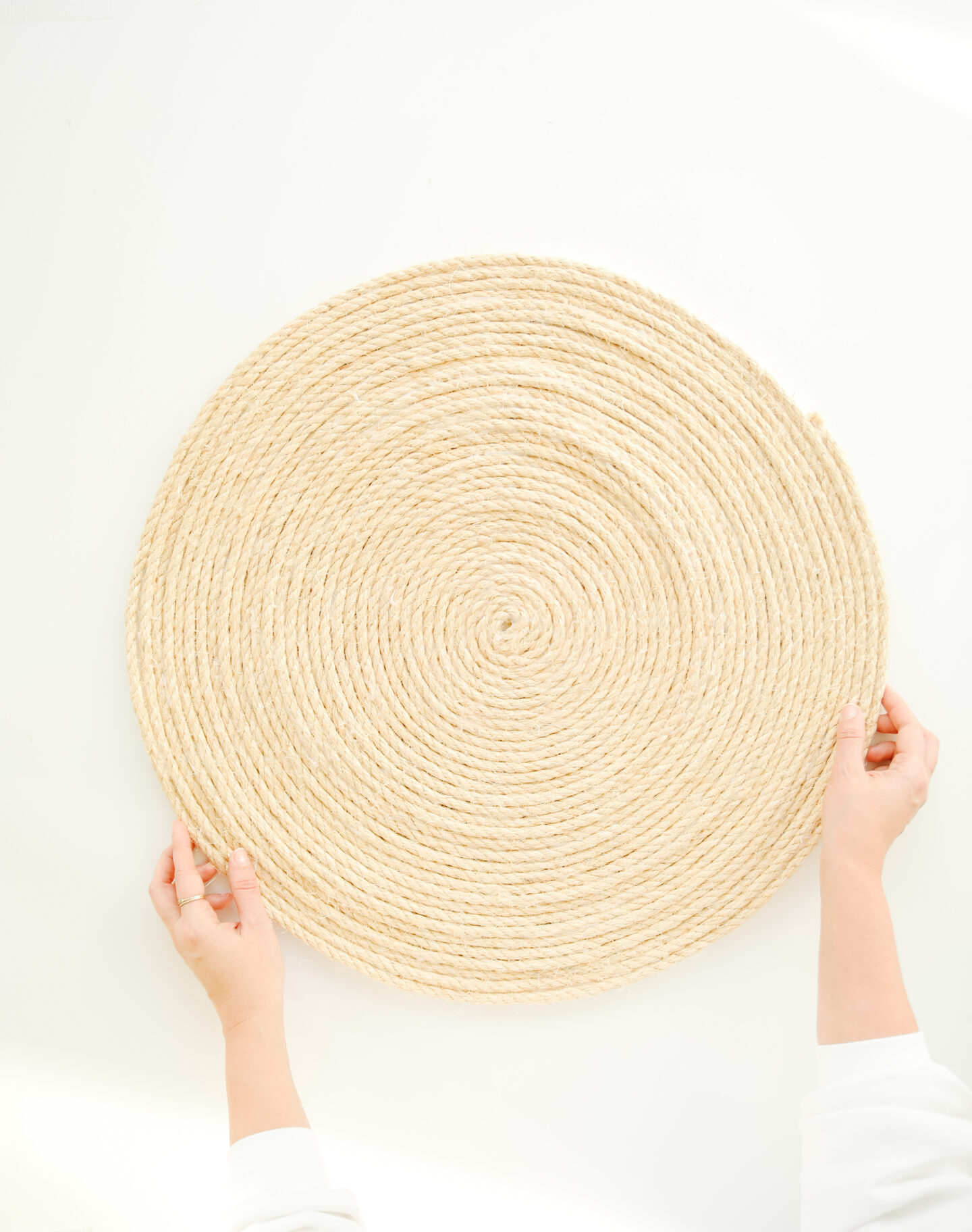 DIY Round Bohemian Rope Rug