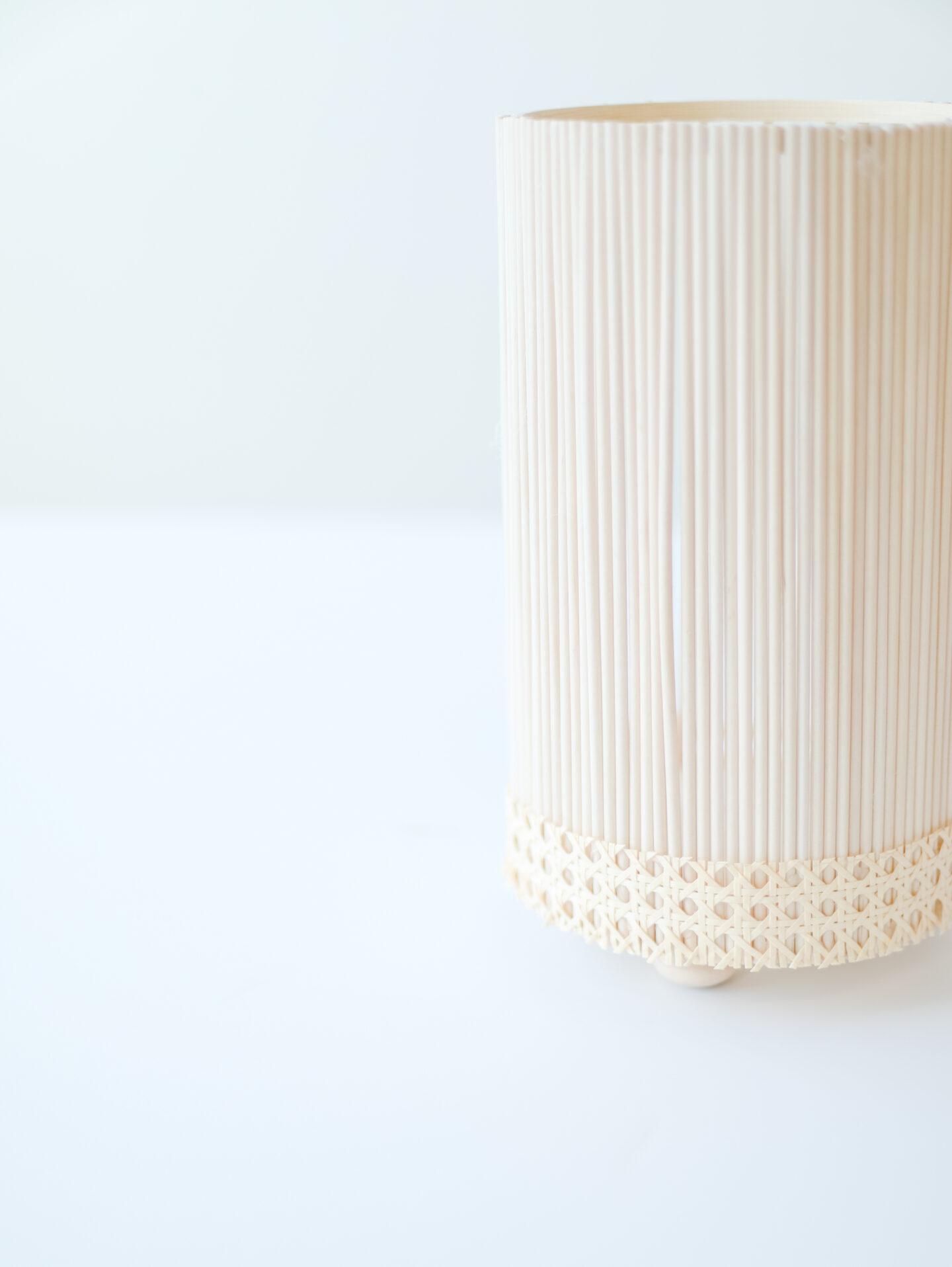 DIY scandi wooden floral vase in a few steps