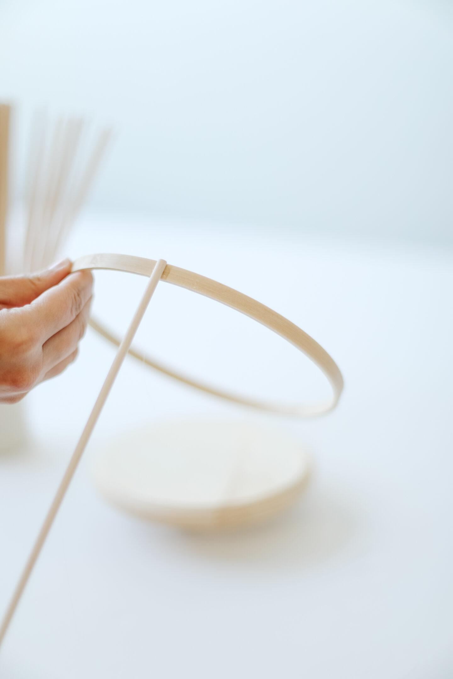 Scandi wooden vase DIY tutorial