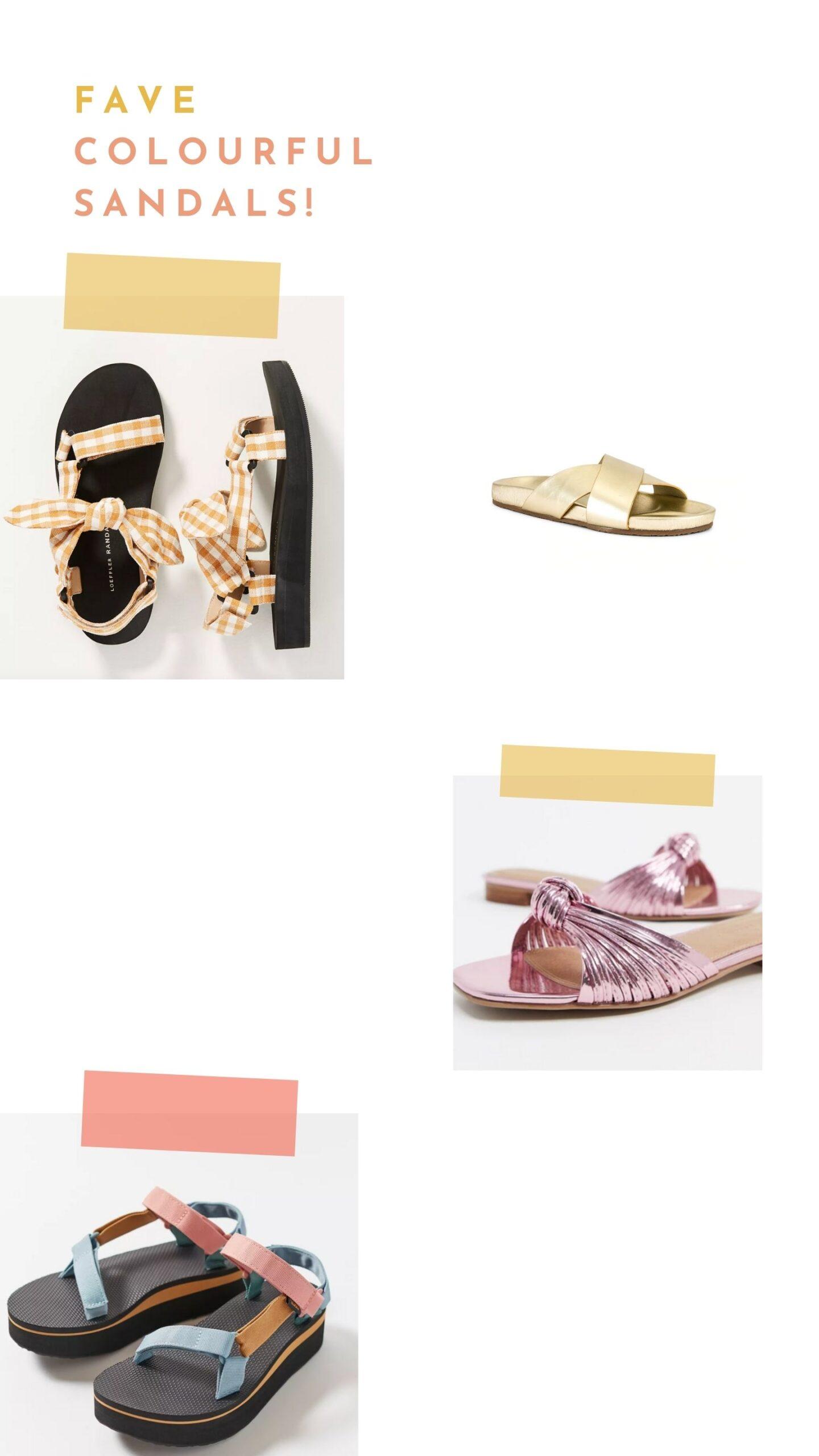 Spring Sandals Must List
