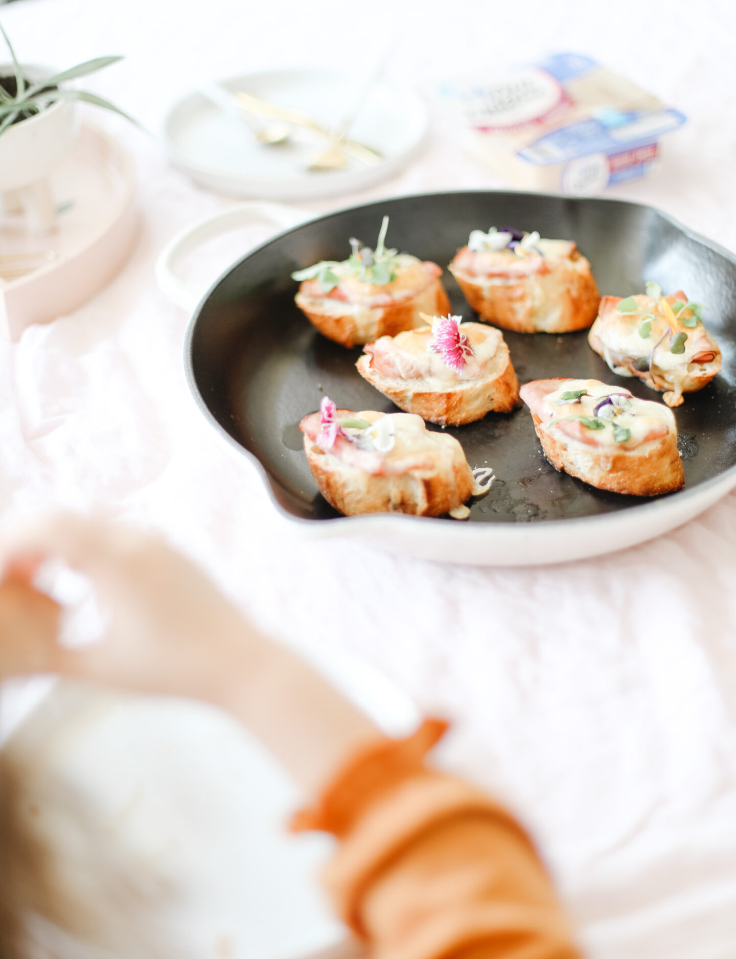 Perfect kids snack: these savoury french toasts