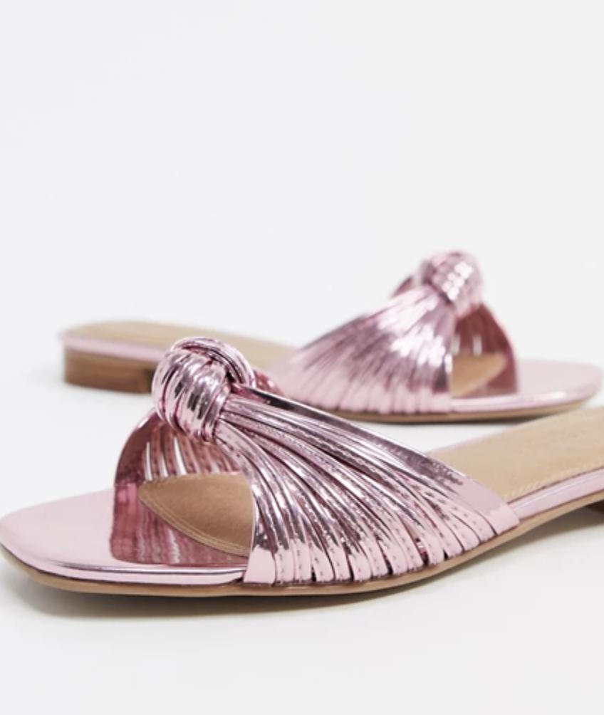 Pink Spring sandals