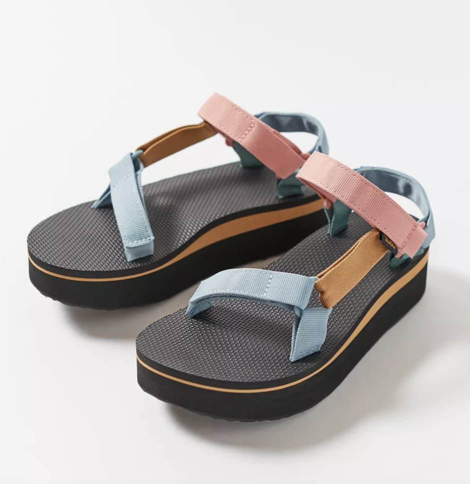 Colourblock Spring Sandals
