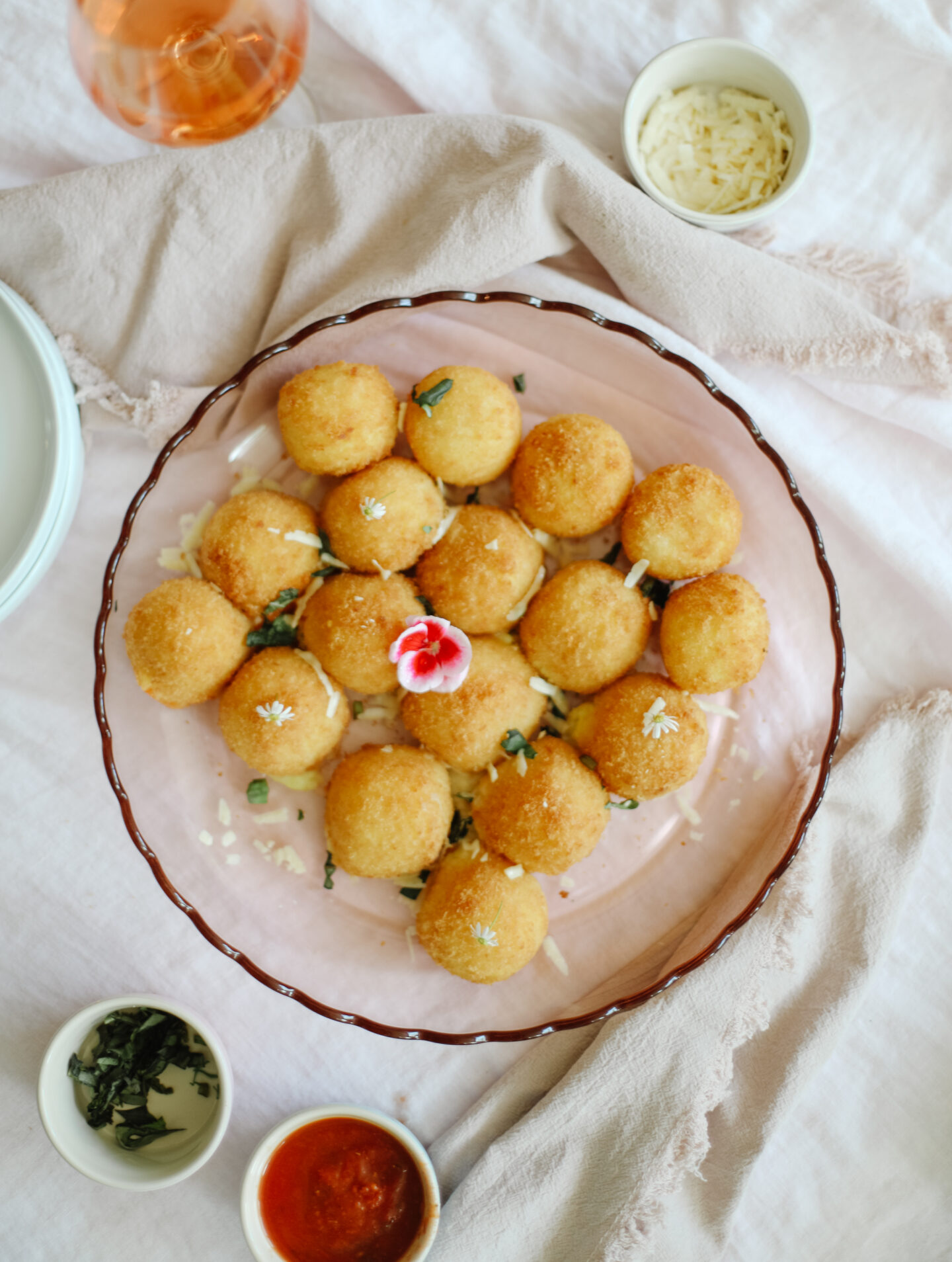 Easy Mini Arancini recipe