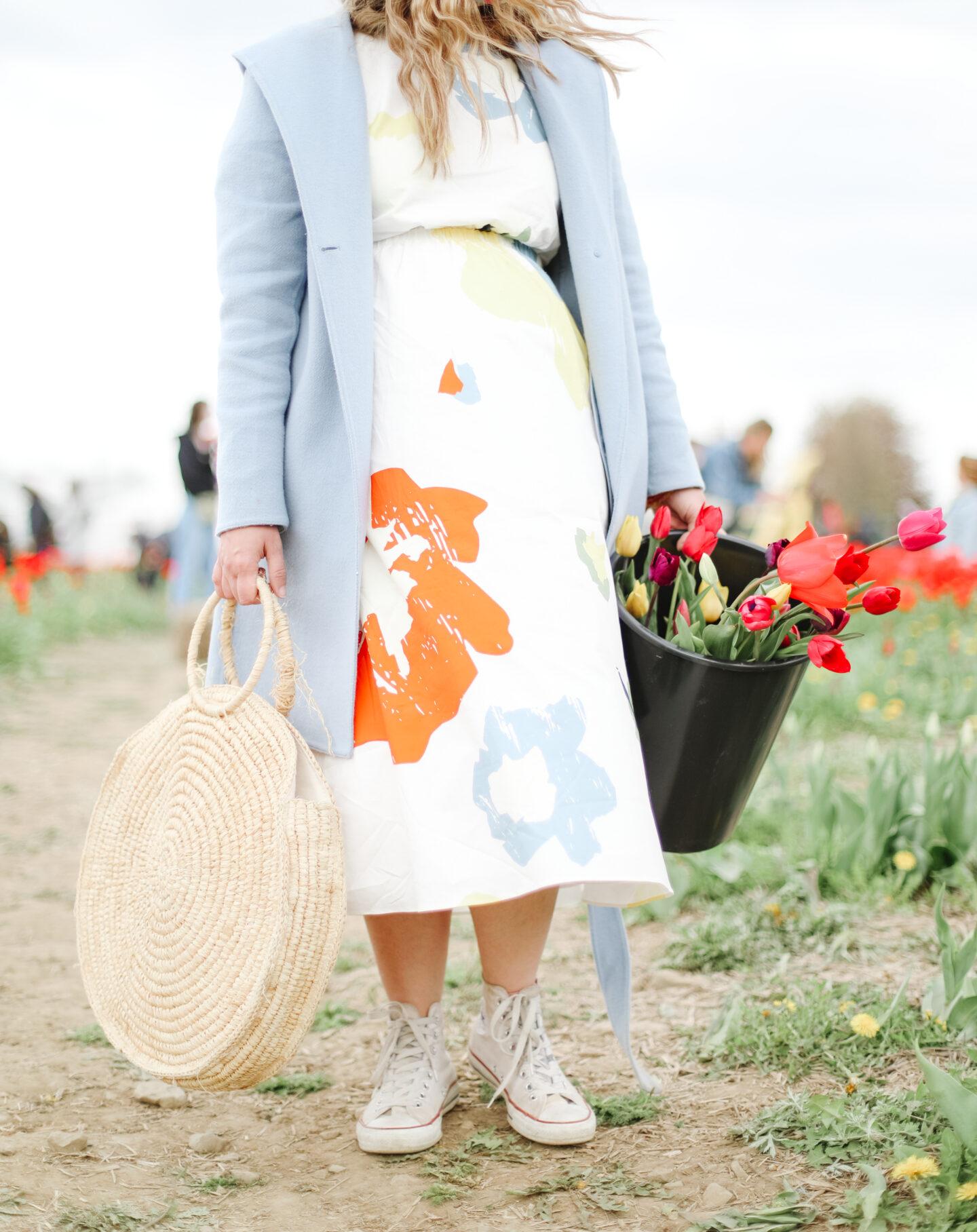 Tulip season outfit