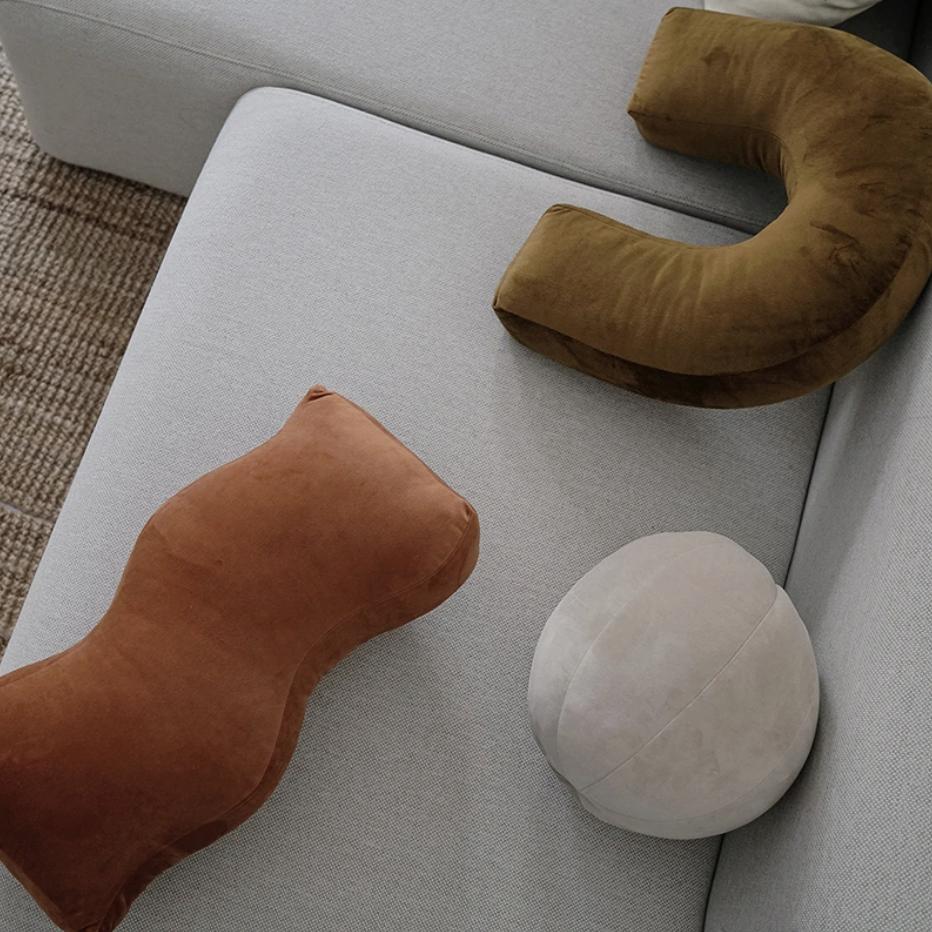 Fun shape pillows