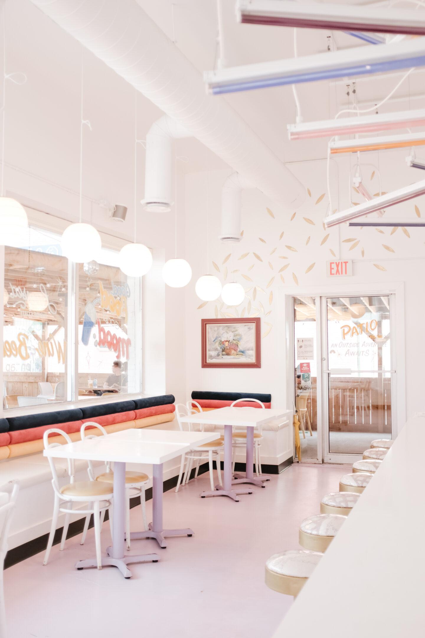 Colourful Restaurant Design
