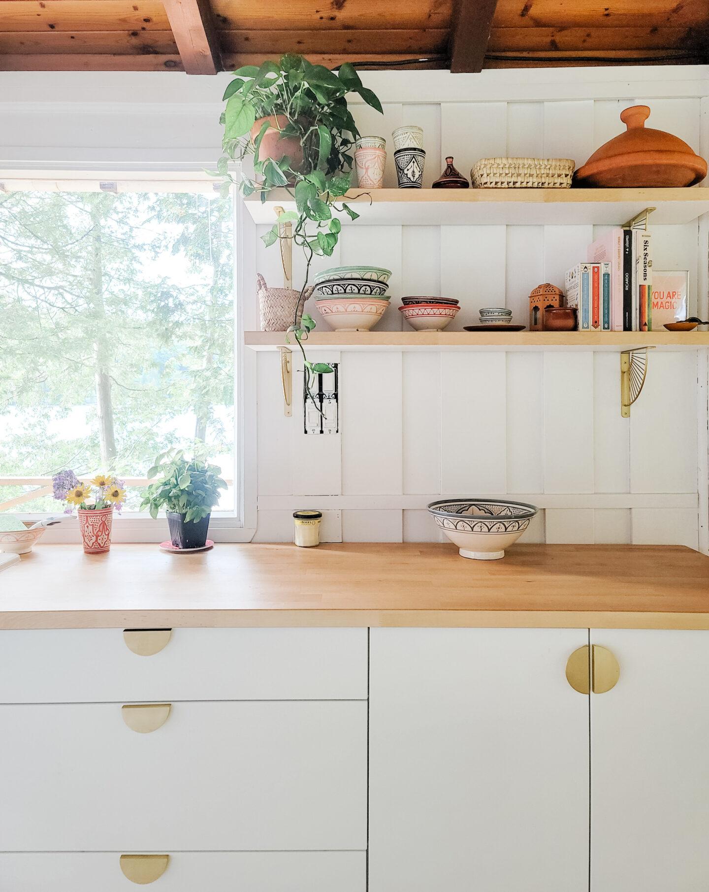 Bohemian kitchen decor