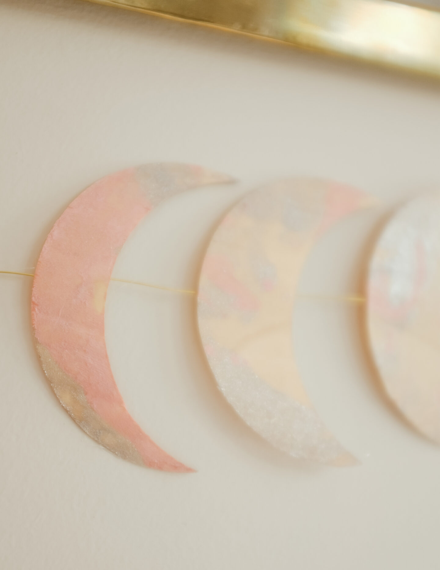 Phases of the moon cricut DIY project