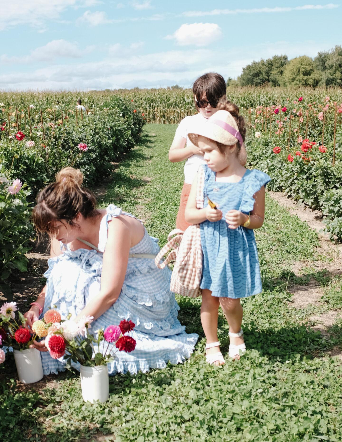 Flower field moment