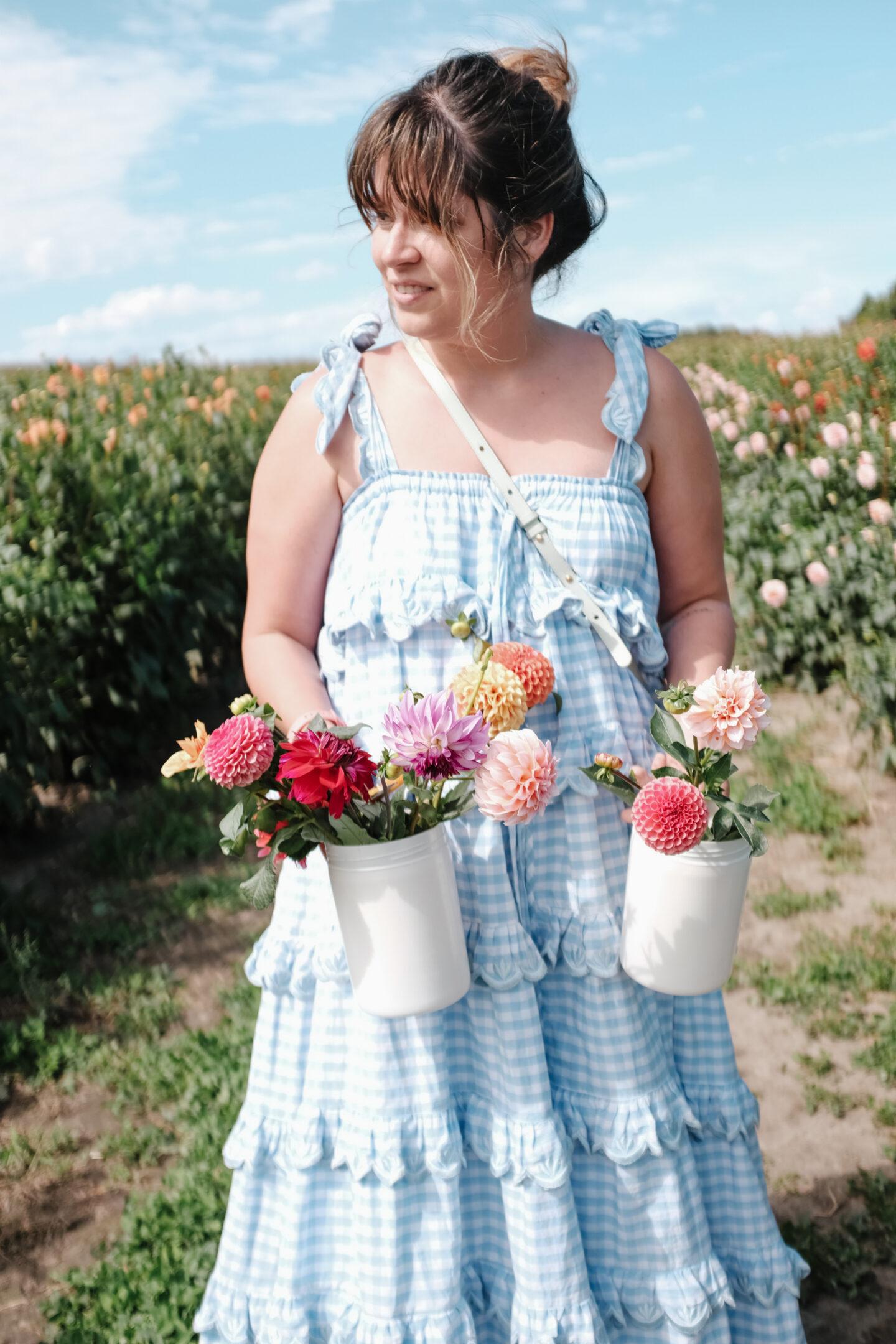 Au Beau Pre Flower Field